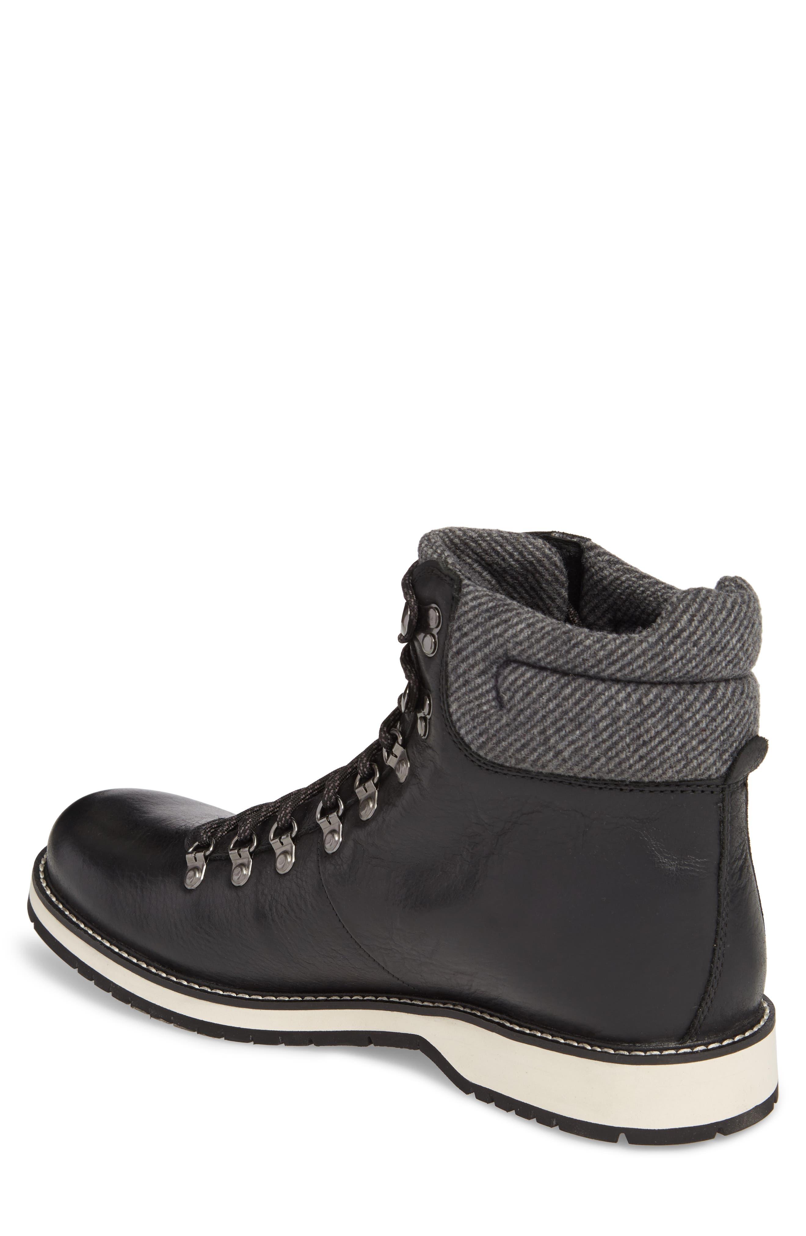 Sidney Waterproof Plain Toe Boot,                             Alternate thumbnail 2, color,                             001