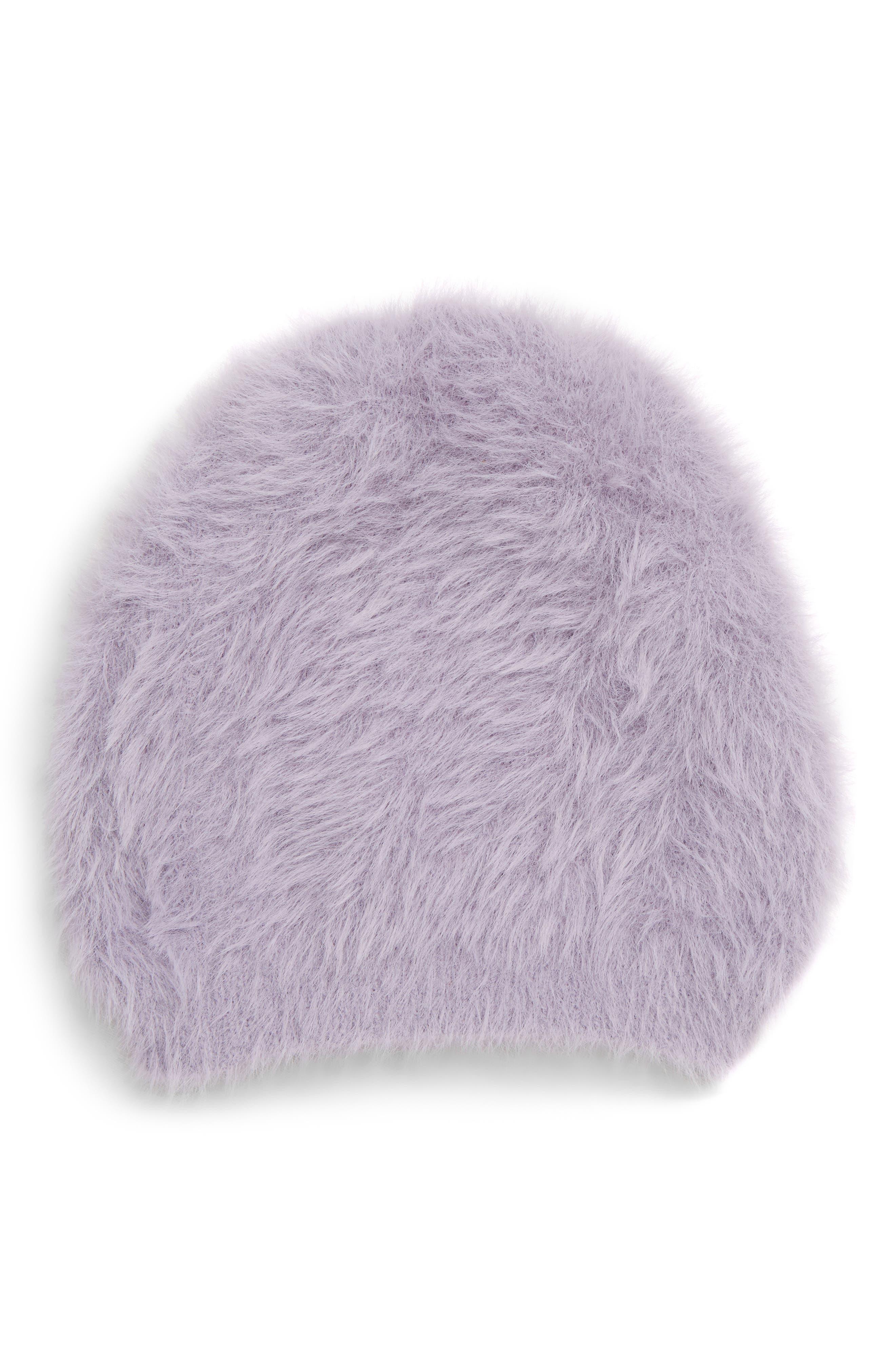 Free People Big Sky Slouchy Beanie - Purple
