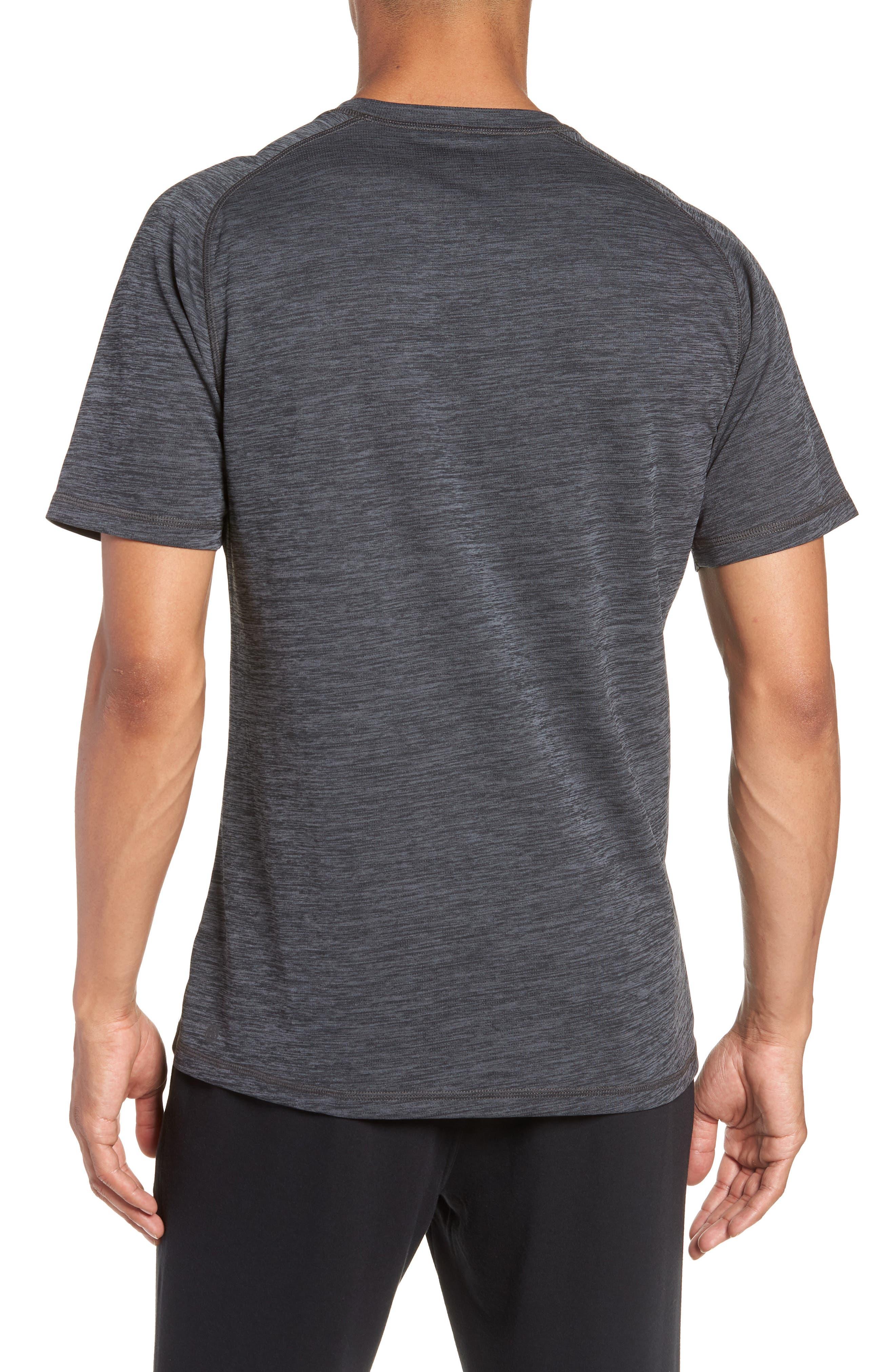 Kinoite Raglan Crewneck T-Shirt,                             Alternate thumbnail 2, color,                             GREY OBSIDIAN MELANGE