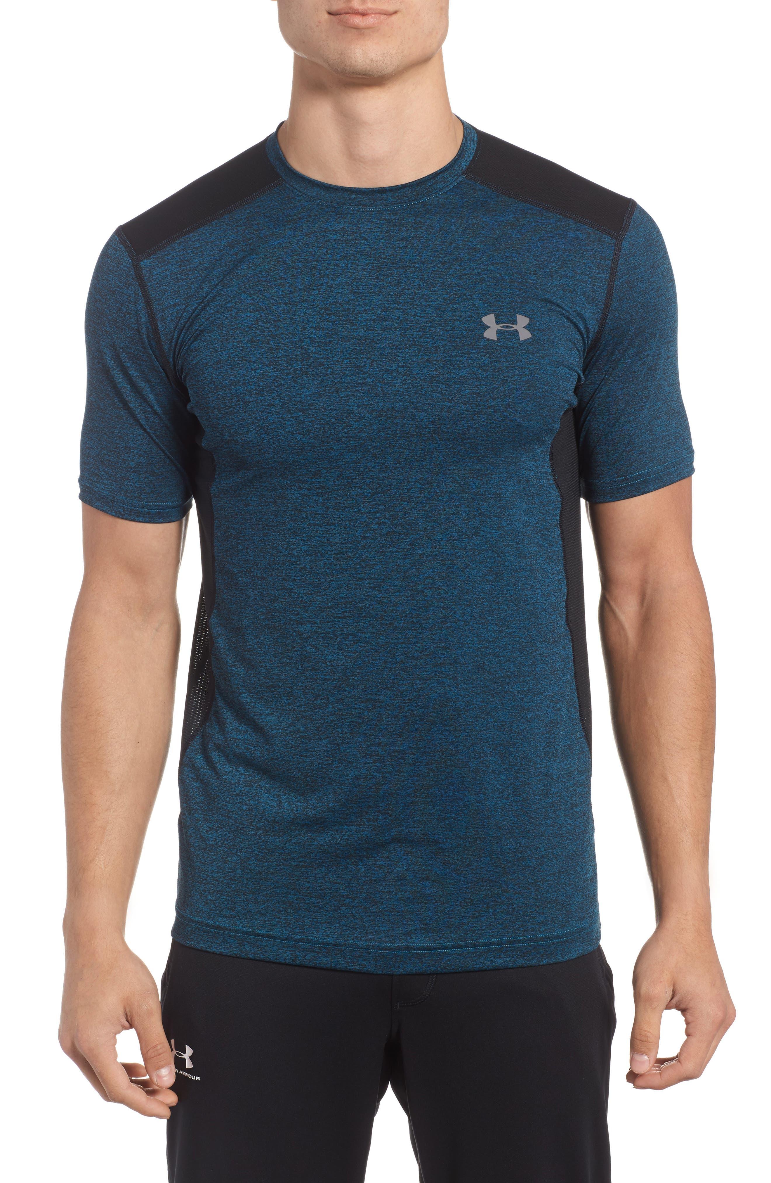 'Raid' HeatGear<sup>®</sup> Training T-Shirt,                             Main thumbnail 4, color,