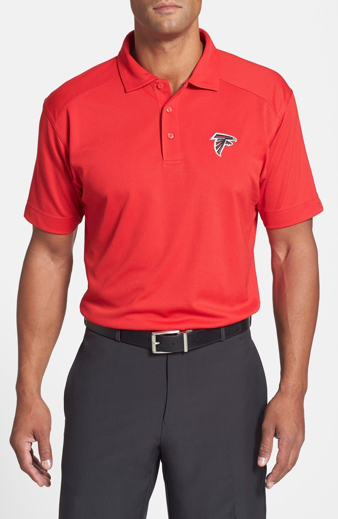 Atlanta Falcons - Genre DryTec Moisture Wicking Polo,                             Main thumbnail 2, color,