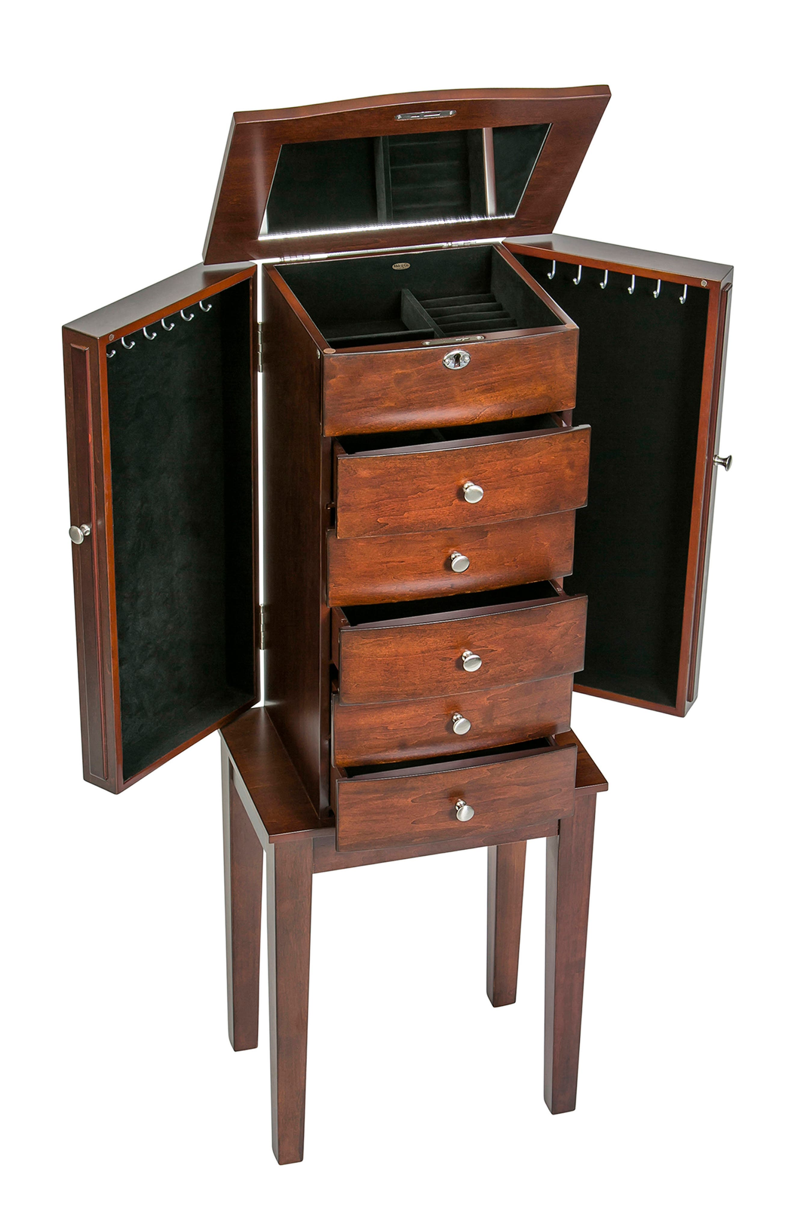 Westfield Jewelry Armoire,                             Alternate thumbnail 5, color,                             200