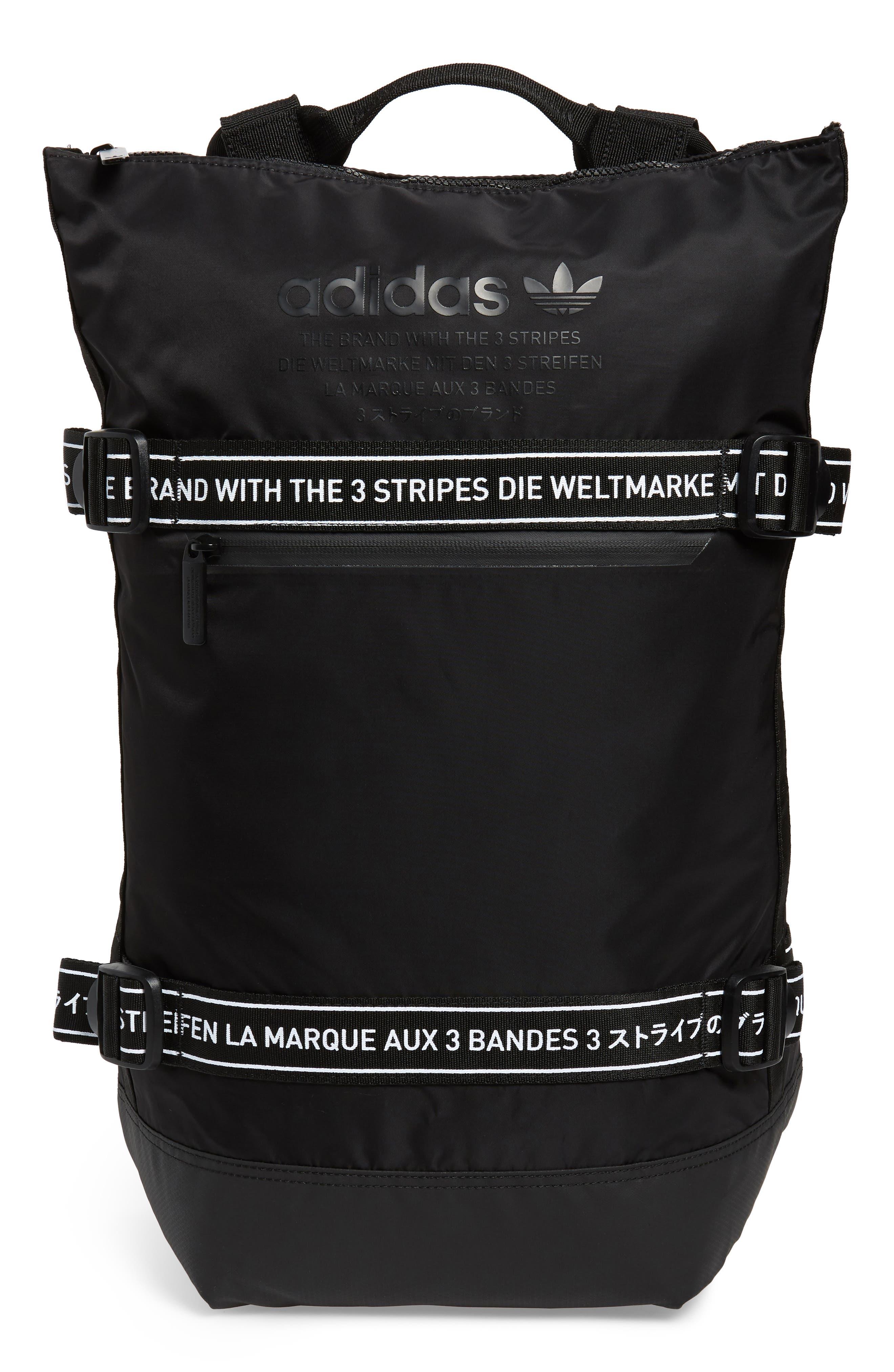 adidas NMD Backpack,                         Main,                         color, BLACK