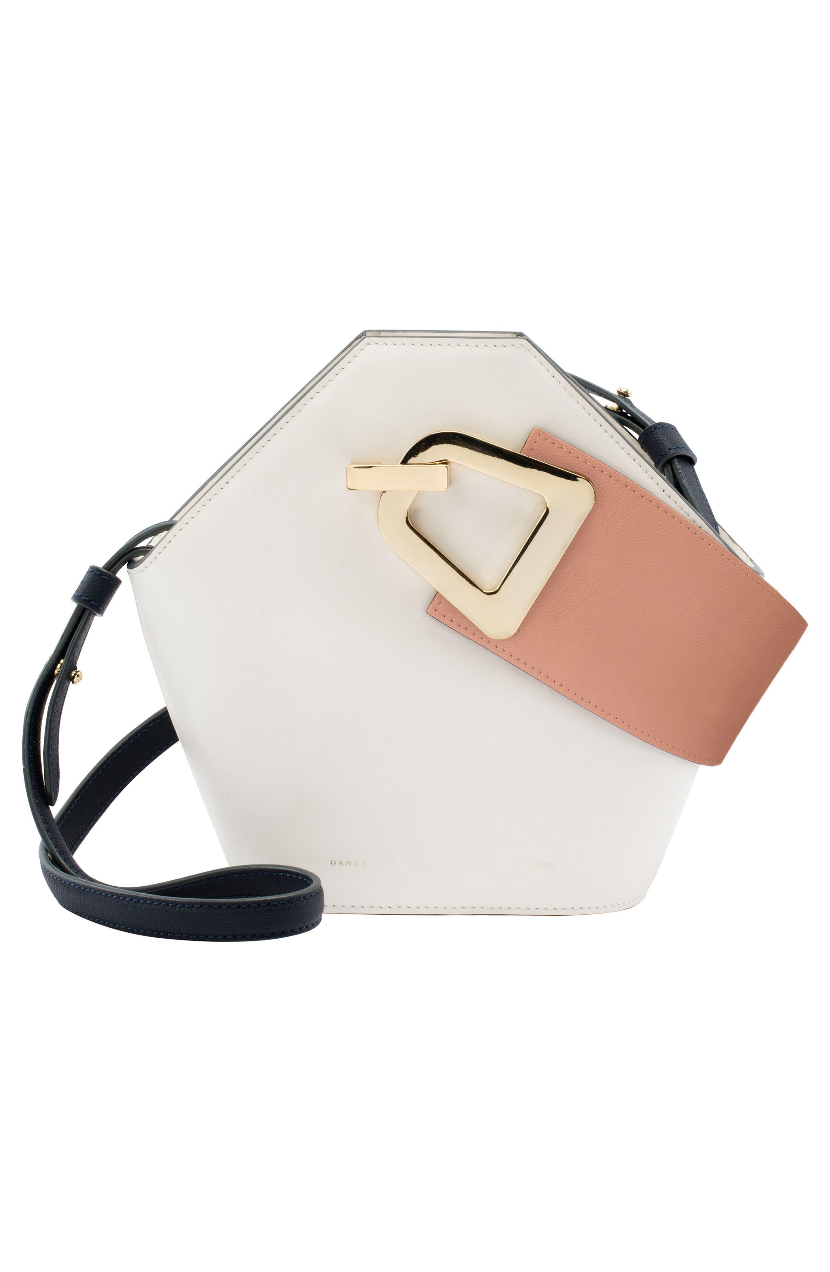 Mini Johnny Leather Bucket Bag,                             Alternate thumbnail 2, color,                             101