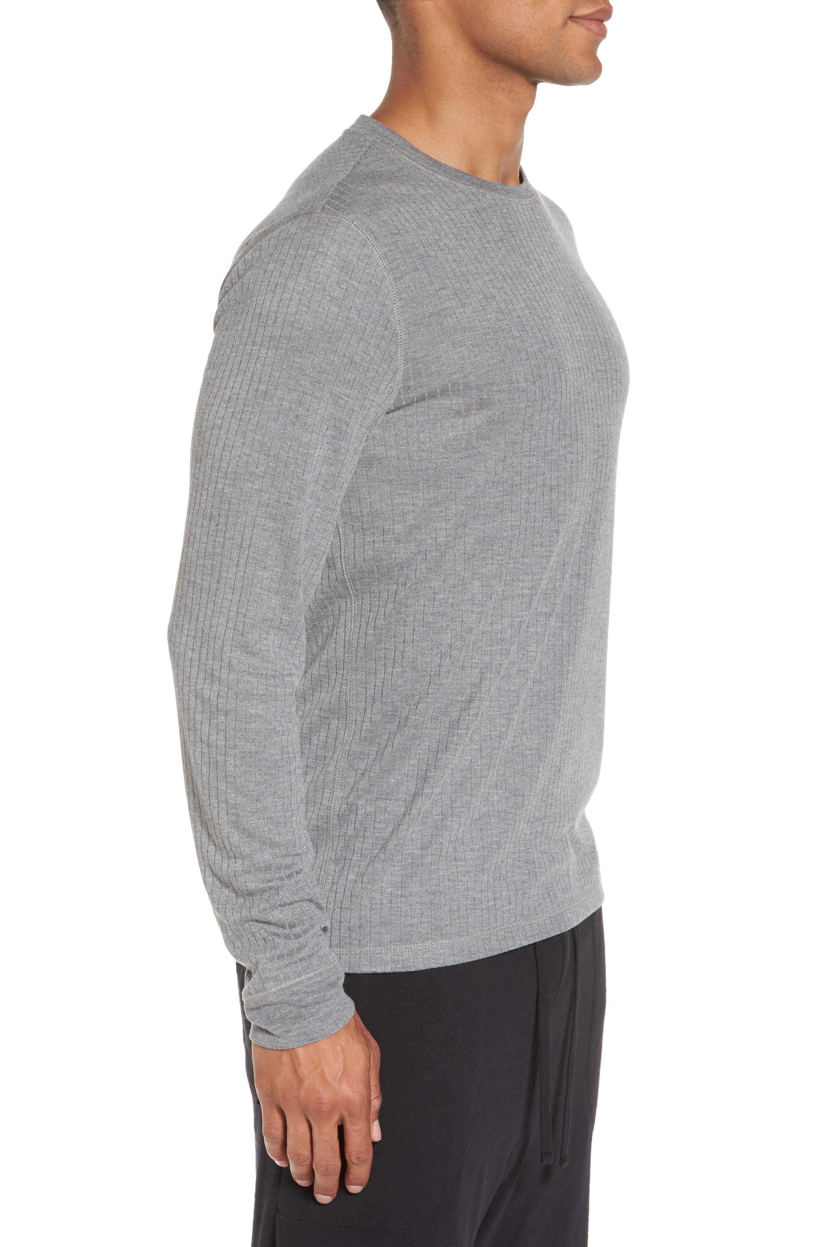Ribbed Pullover,                             Alternate thumbnail 3, color,                             095