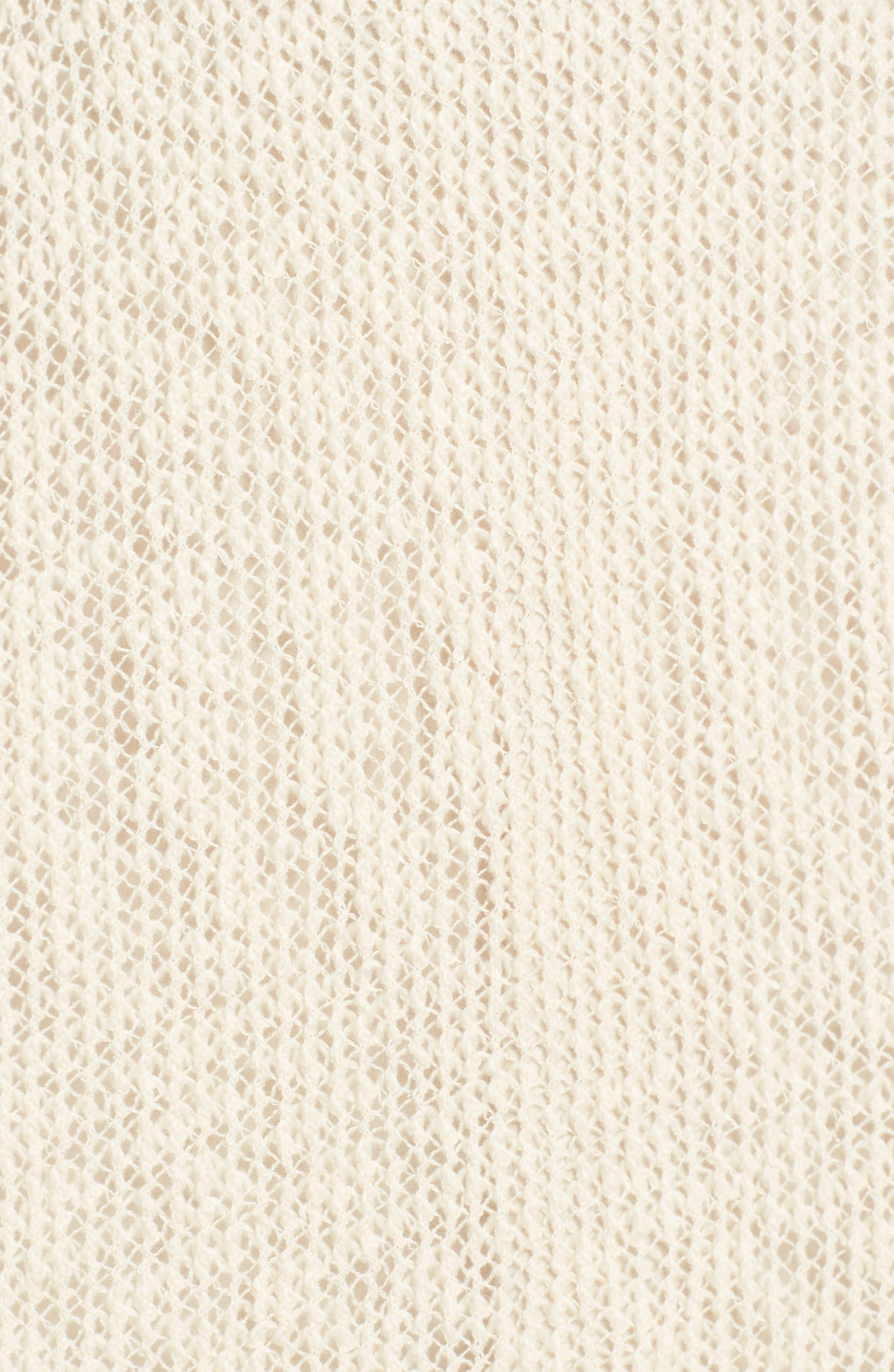 Organic Cotton Poncho,                             Alternate thumbnail 5, color,                             103