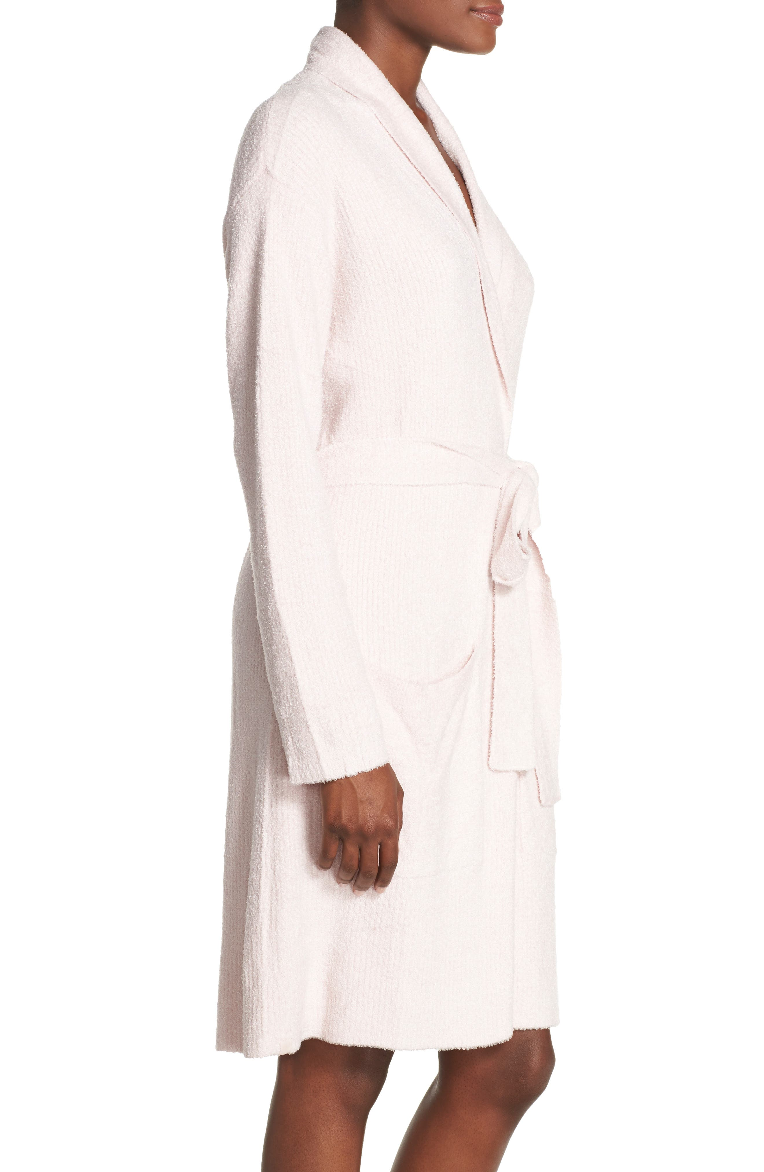 Barefoot Dreams CozyChic Lite<sup>®</sup> Short Robe,                             Alternate thumbnail 3, color,                             682