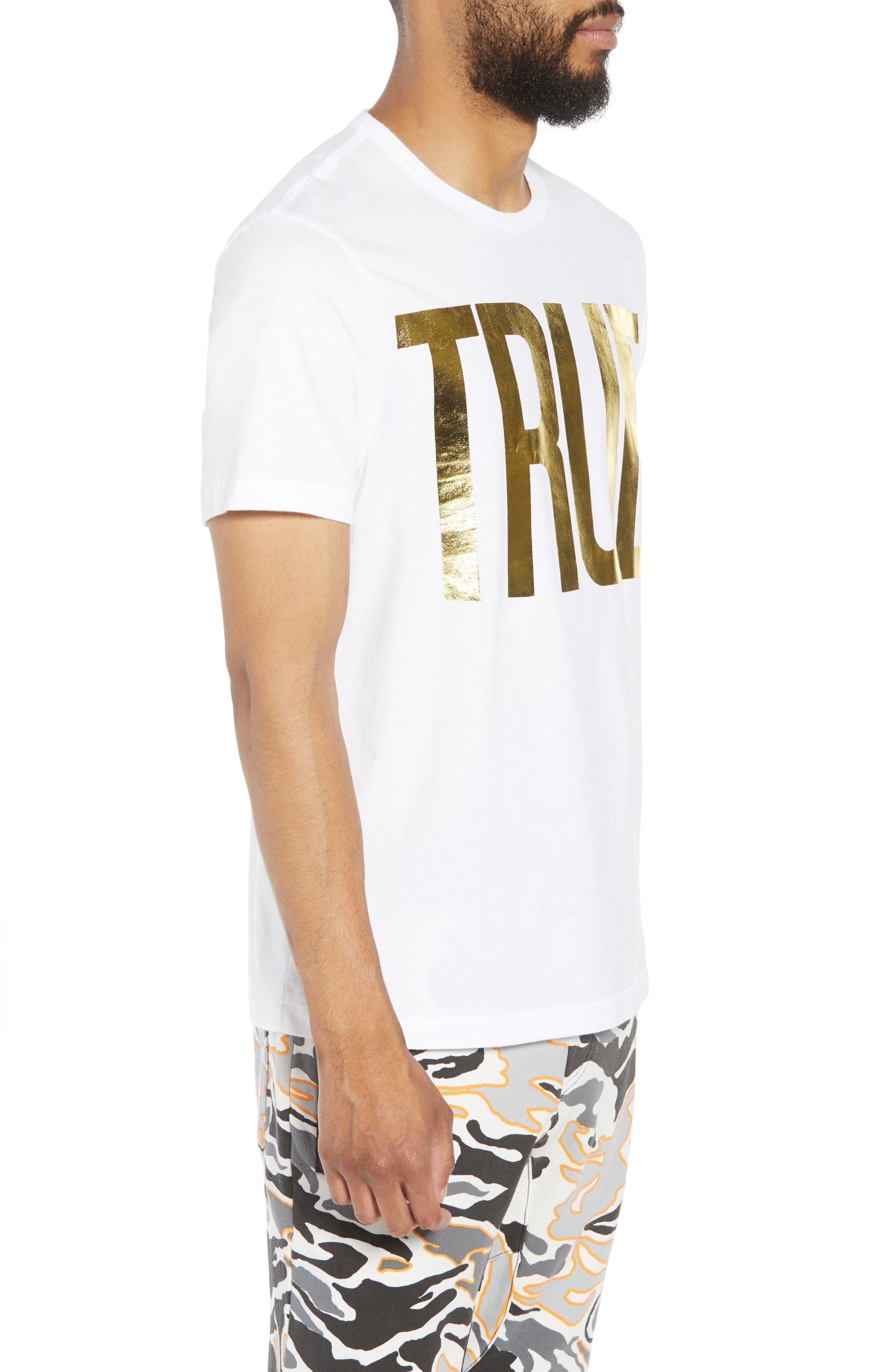Gold Foil Logo T-Shirt,                             Alternate thumbnail 6, color,