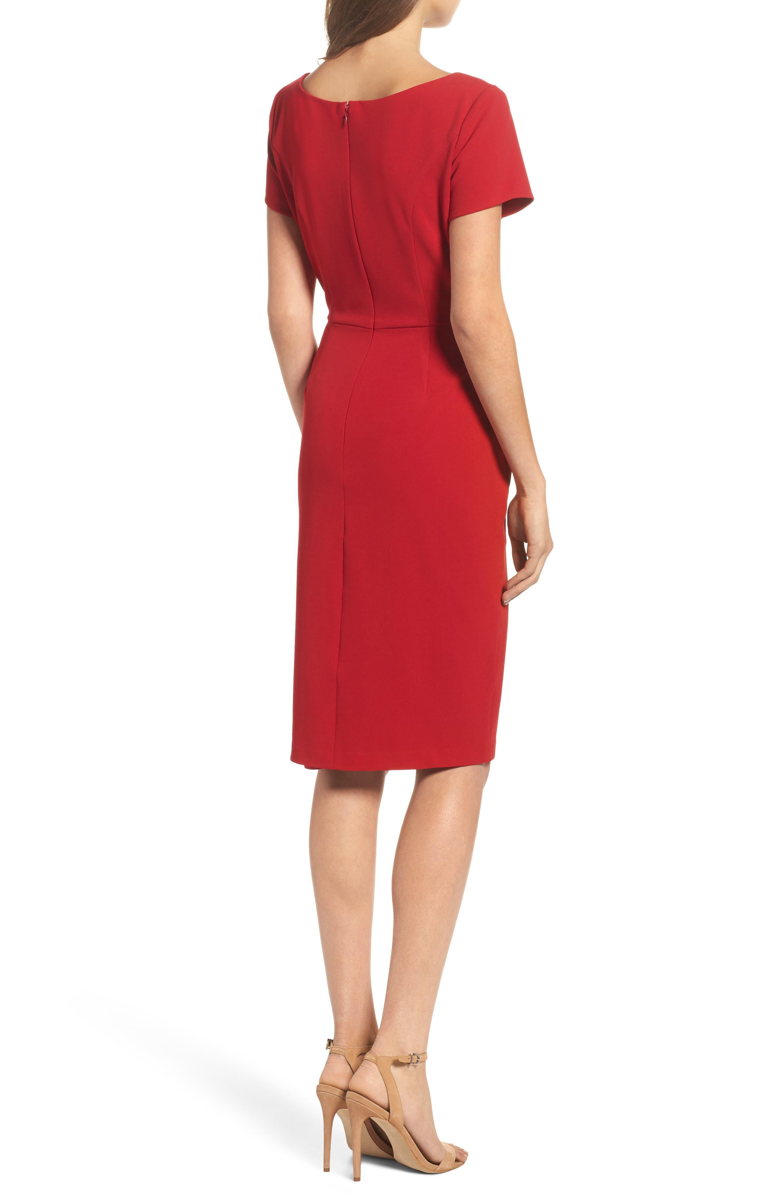 Sheath Dress,                             Alternate thumbnail 2, color,                             600