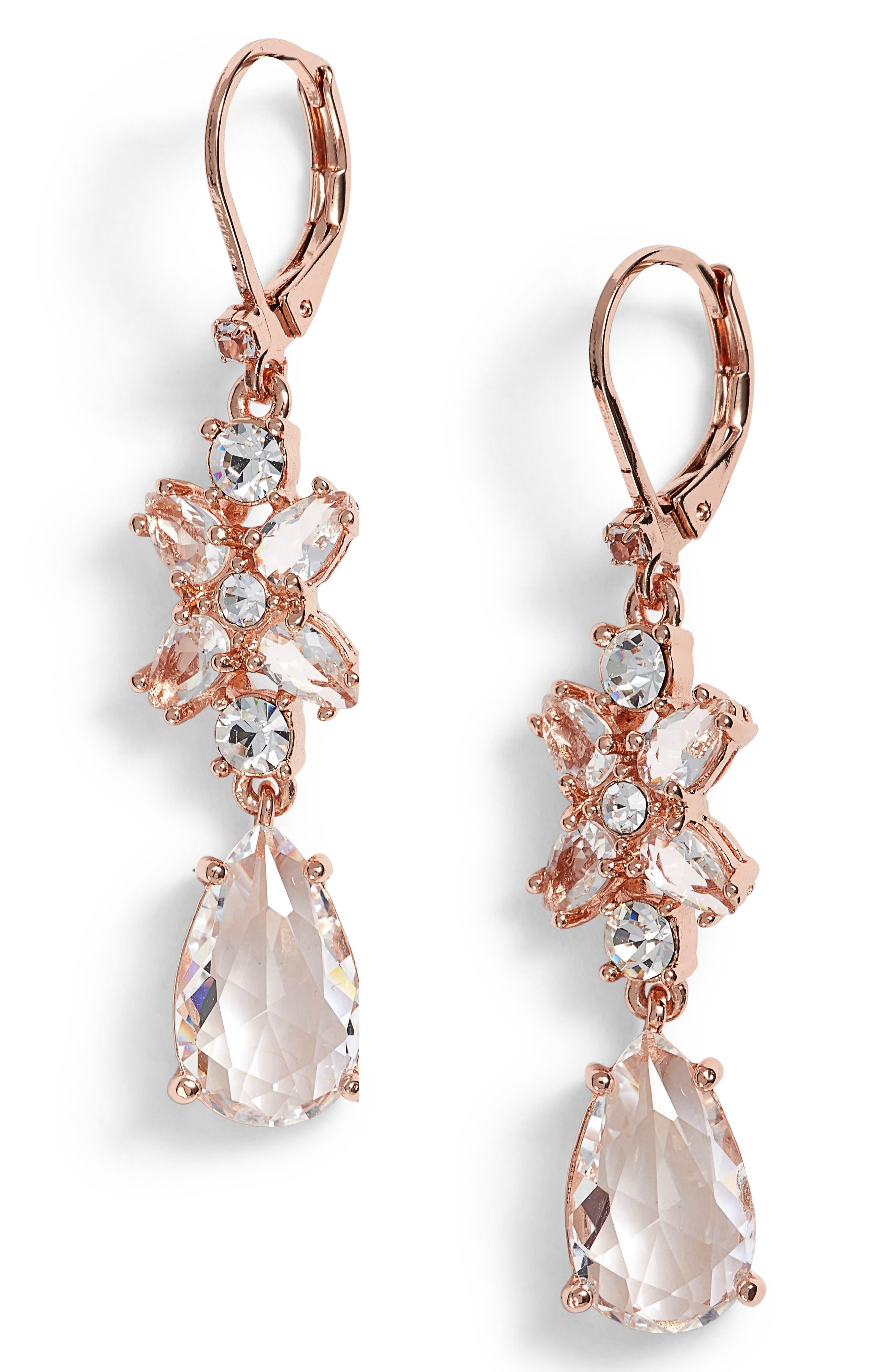 take a shine drop earrings,                             Main thumbnail 2, color,