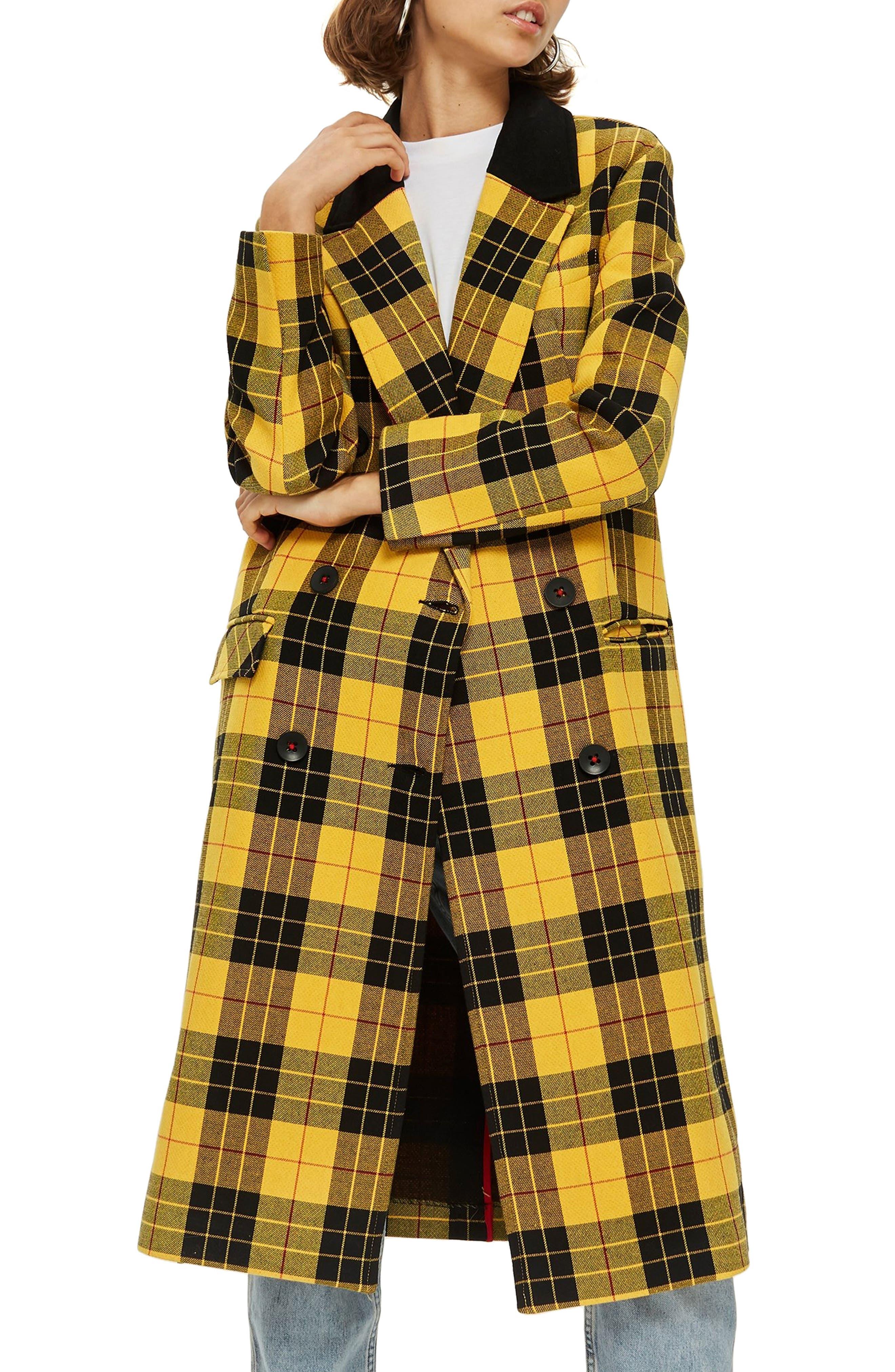 Ella Tartan Jacket,                         Main,                         color, 700