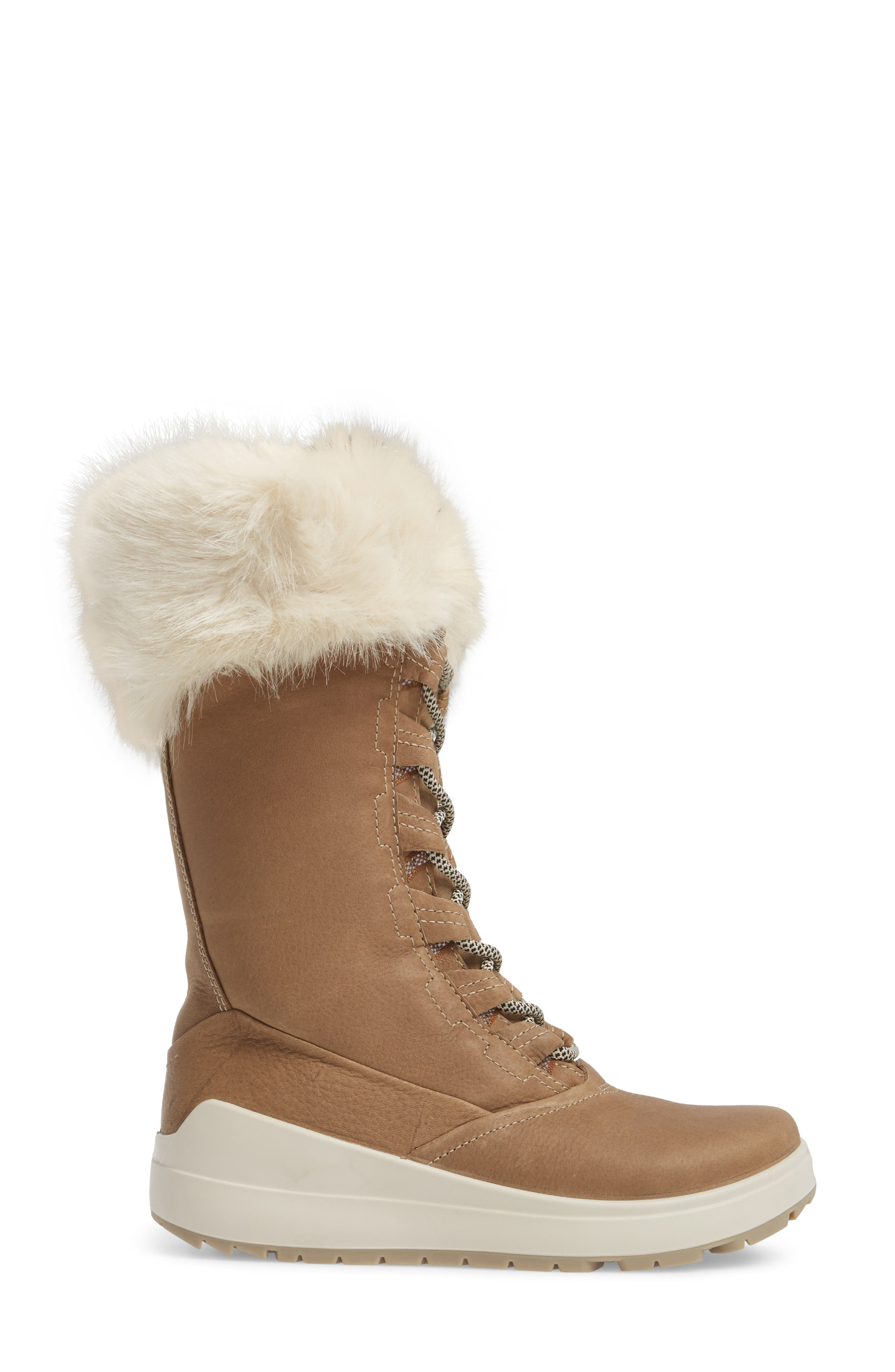 Noyce Siberia Hydromax Water Resistant Winter Boot with Faux Fur Trim,                             Alternate thumbnail 6, color,