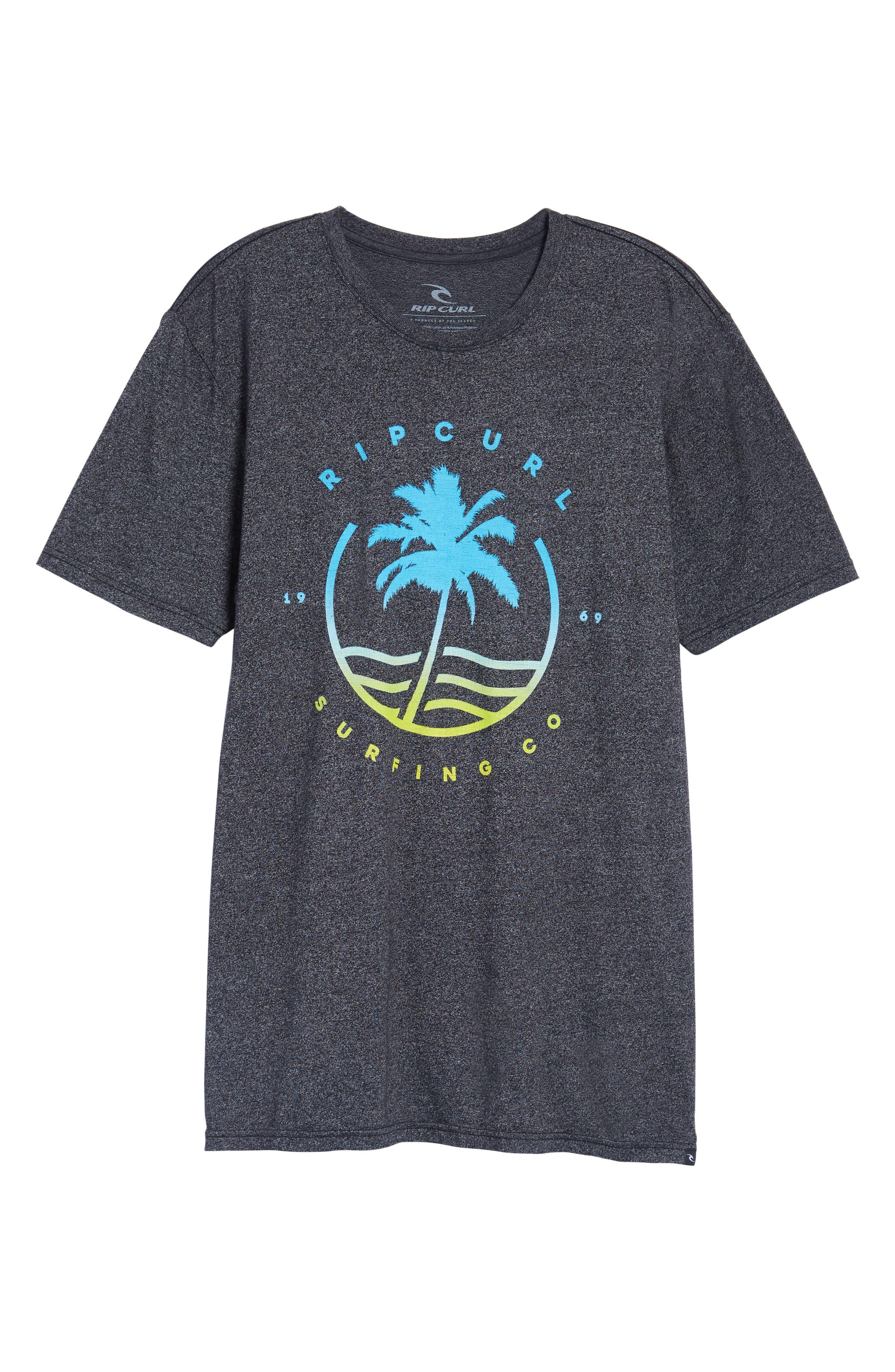 Bliss Mock Twist Graphic T-Shirt,                             Alternate thumbnail 6, color,                             001