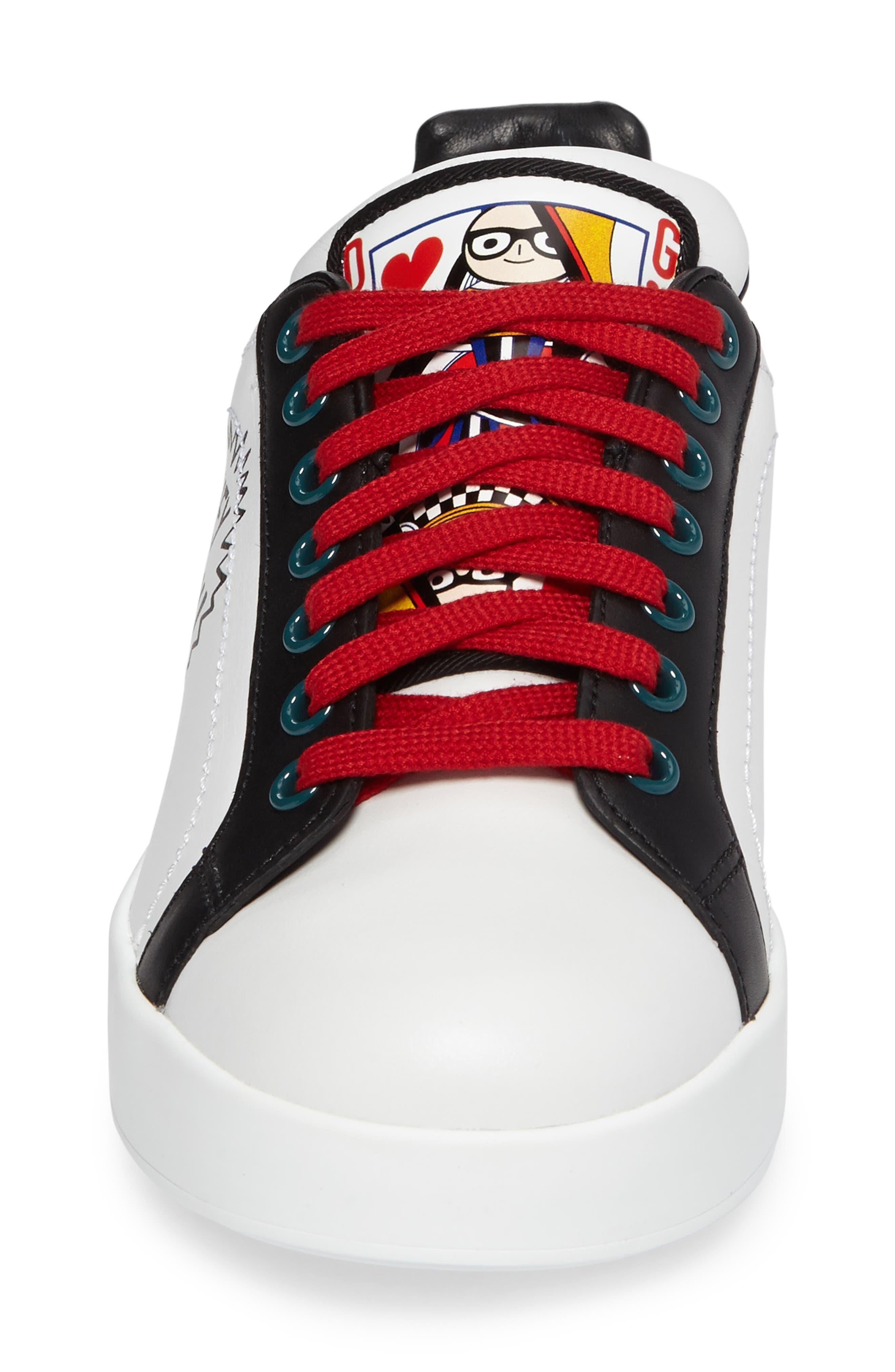Cartoon Sneaker,                             Alternate thumbnail 4, color,                             002