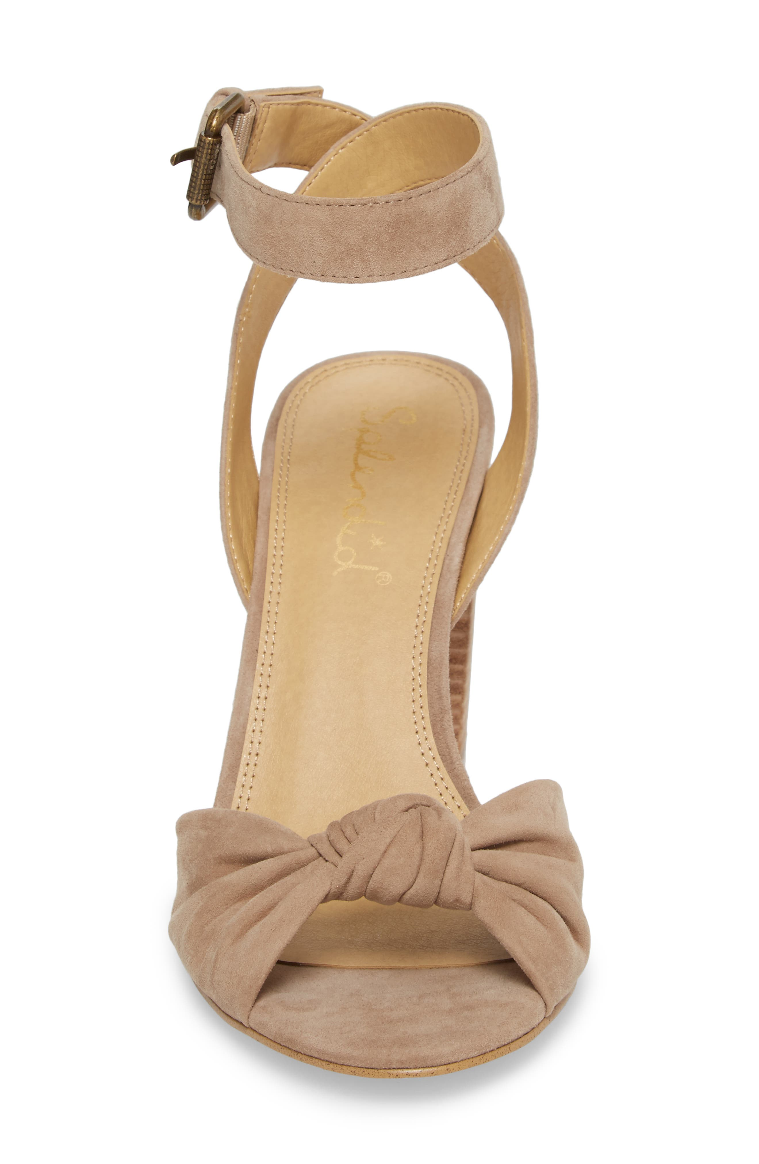 Bea Knotted Sandal,                             Alternate thumbnail 4, color,                             252