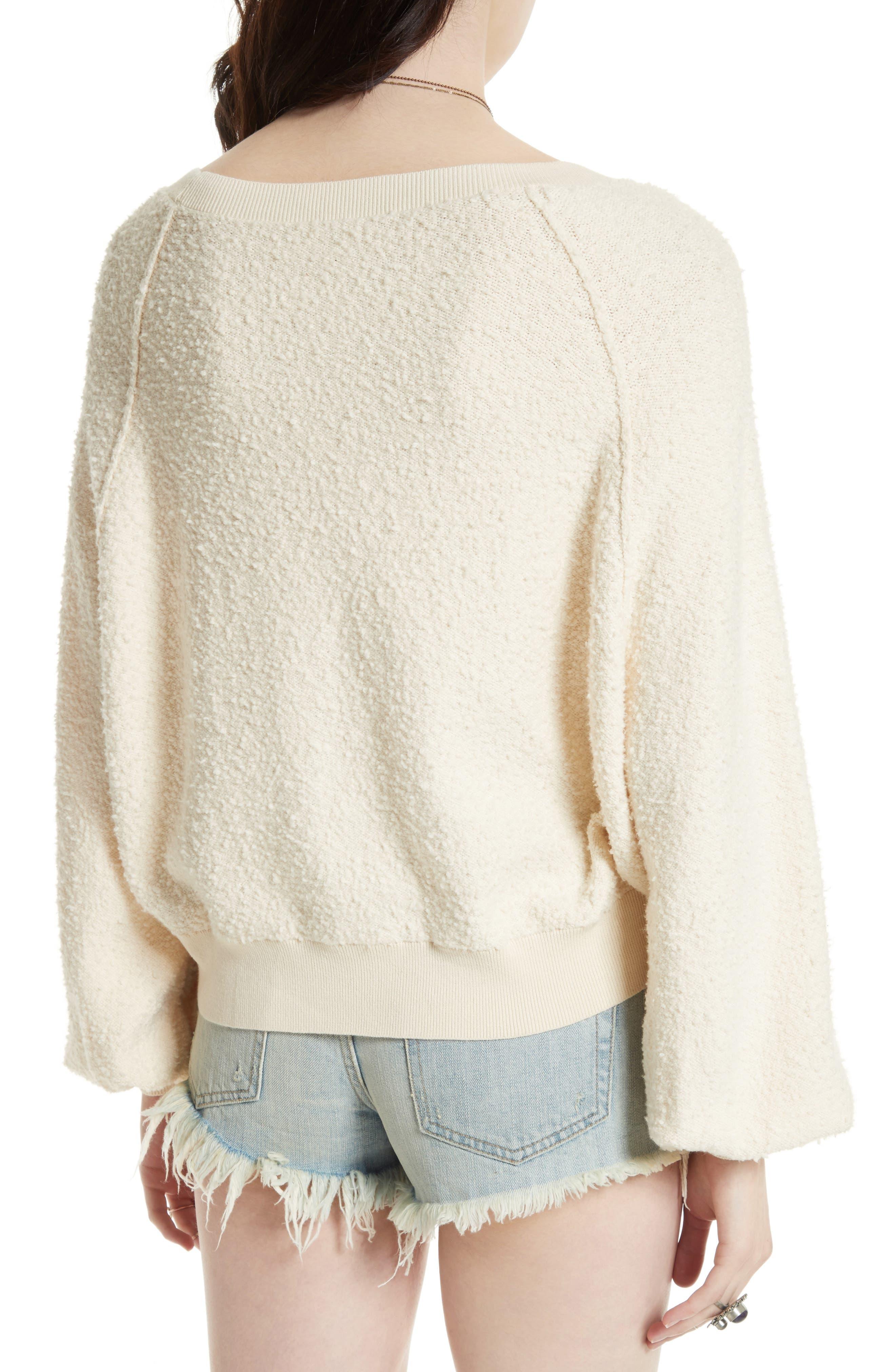 Found My Friend Sweatshirt,                             Alternate thumbnail 2, color,                             IVORY
