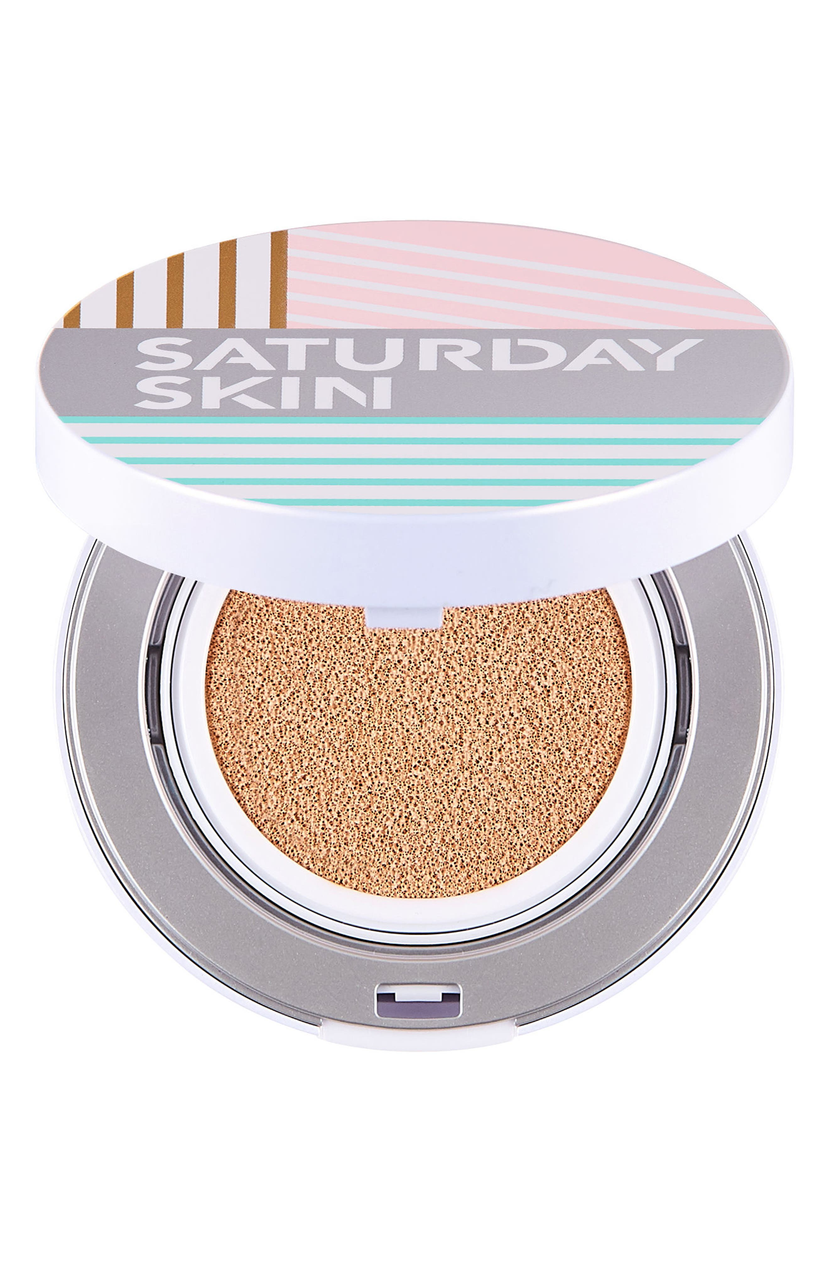 All Aglow Sunscreen Perfection Cushion Compact SPF 50,                             Alternate thumbnail 2, color,                             02 CHAMPAGNE