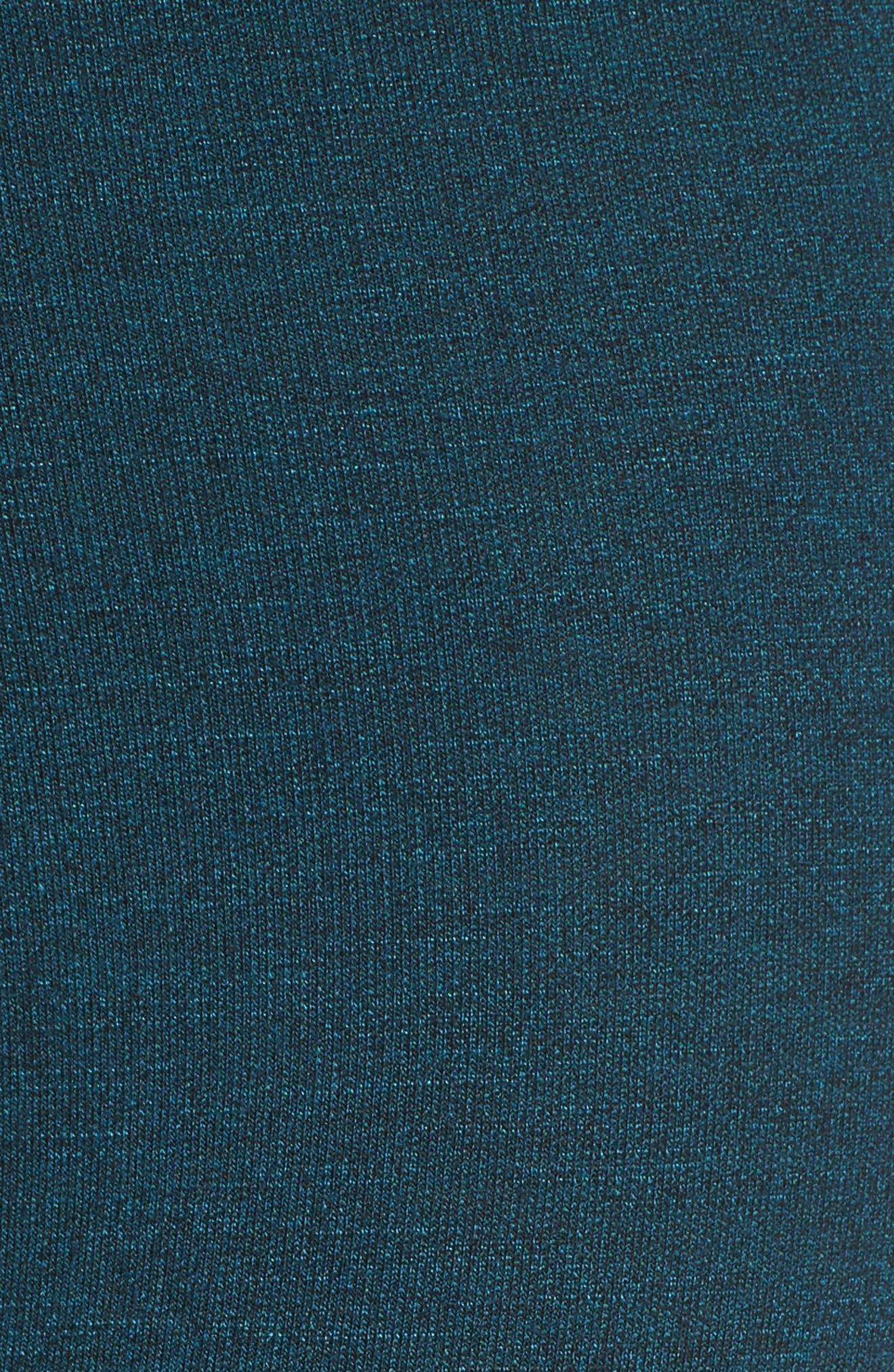 Stripe Capri Leggings,                             Alternate thumbnail 5, color,                             440