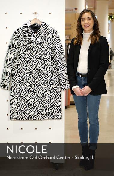 Zebra Print Coat, sales video thumbnail