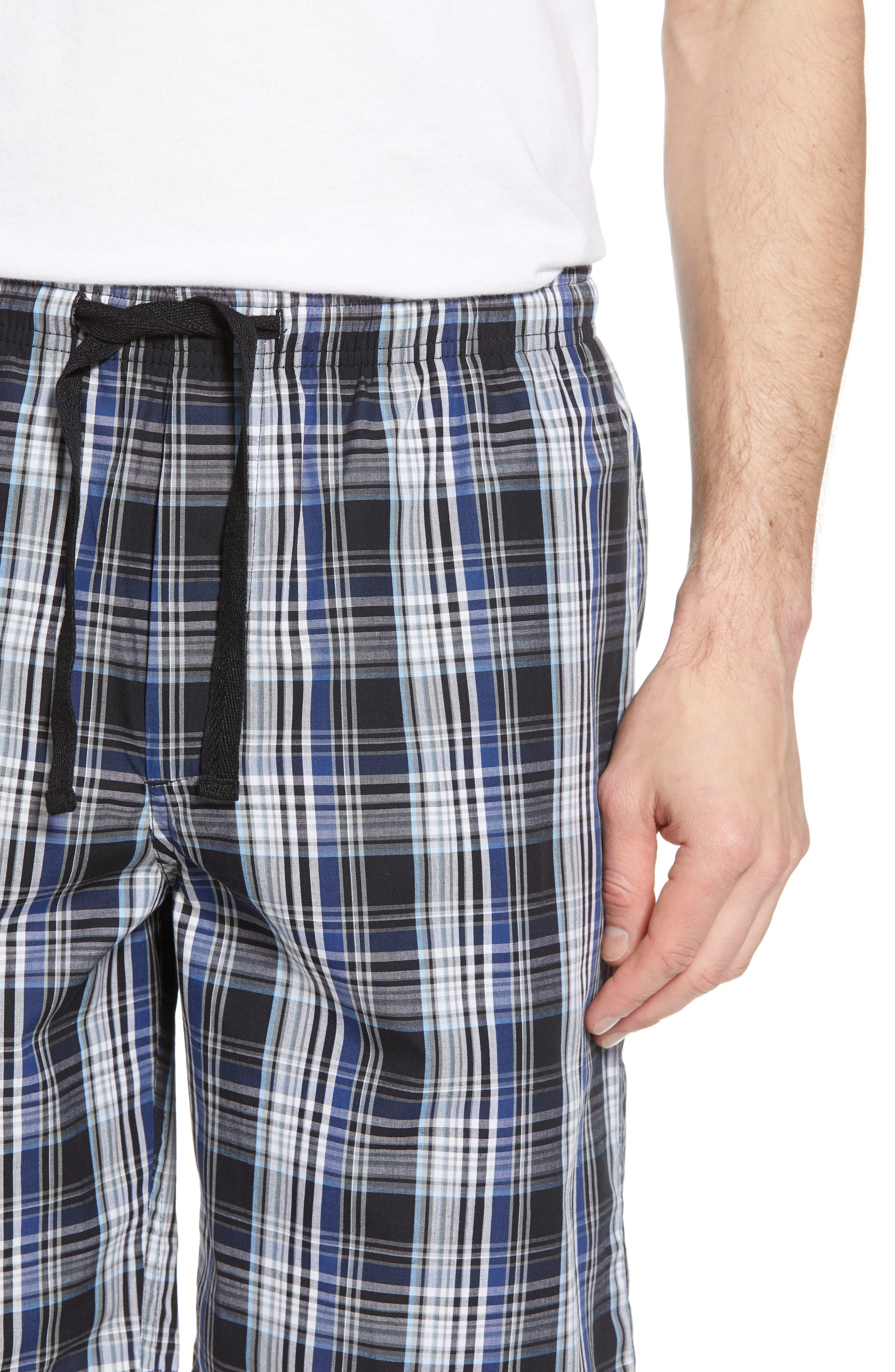 Poplin Lounge Shorts,                             Alternate thumbnail 4, color,                             002