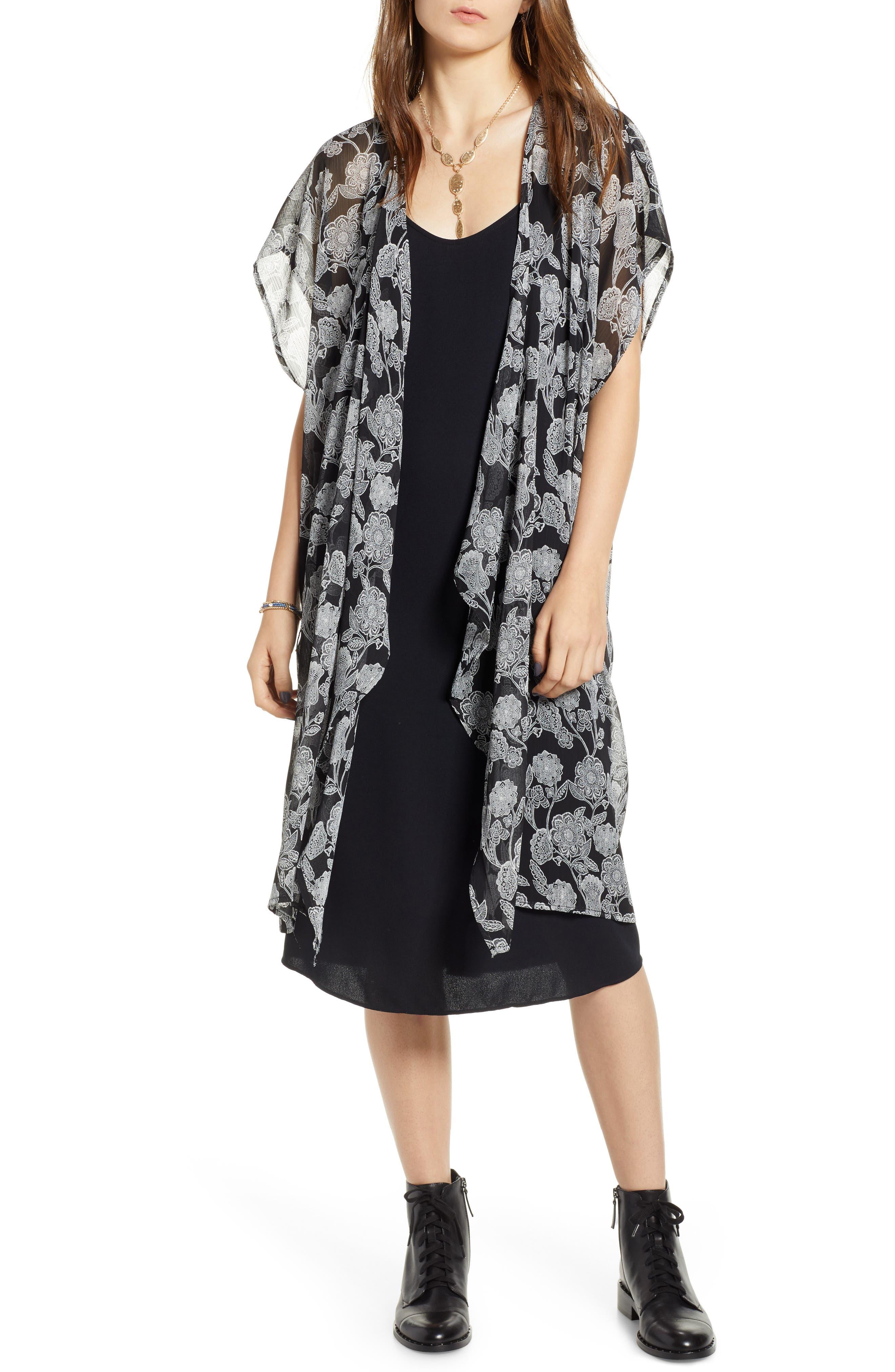 Kimono Vest,                             Main thumbnail 1, color,                             001