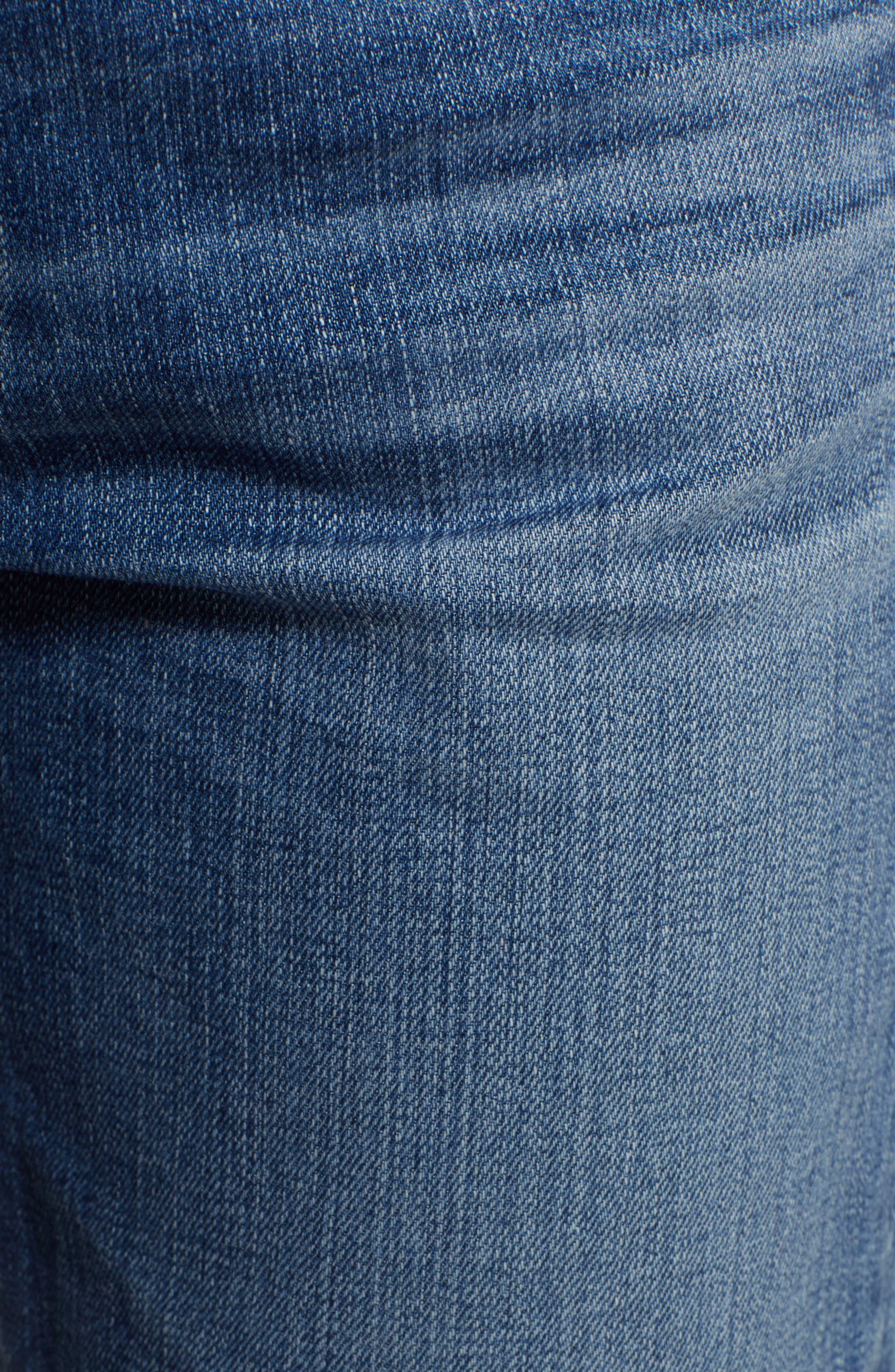 Ex-Boyfriend Crop Slim Jeans,                             Alternate thumbnail 6, color,                             417