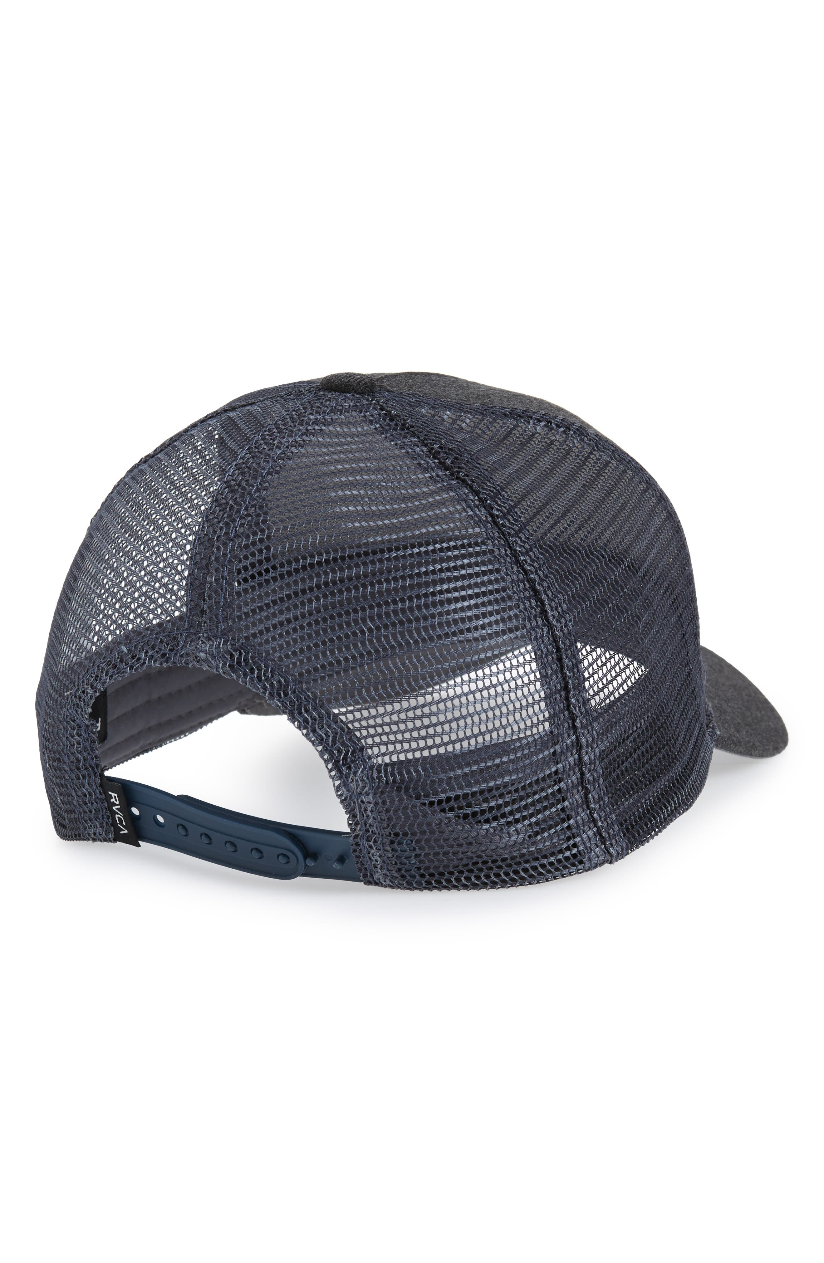 Trail Trucker Hat,                             Alternate thumbnail 2, color,                             CHARCOAL HEATHER