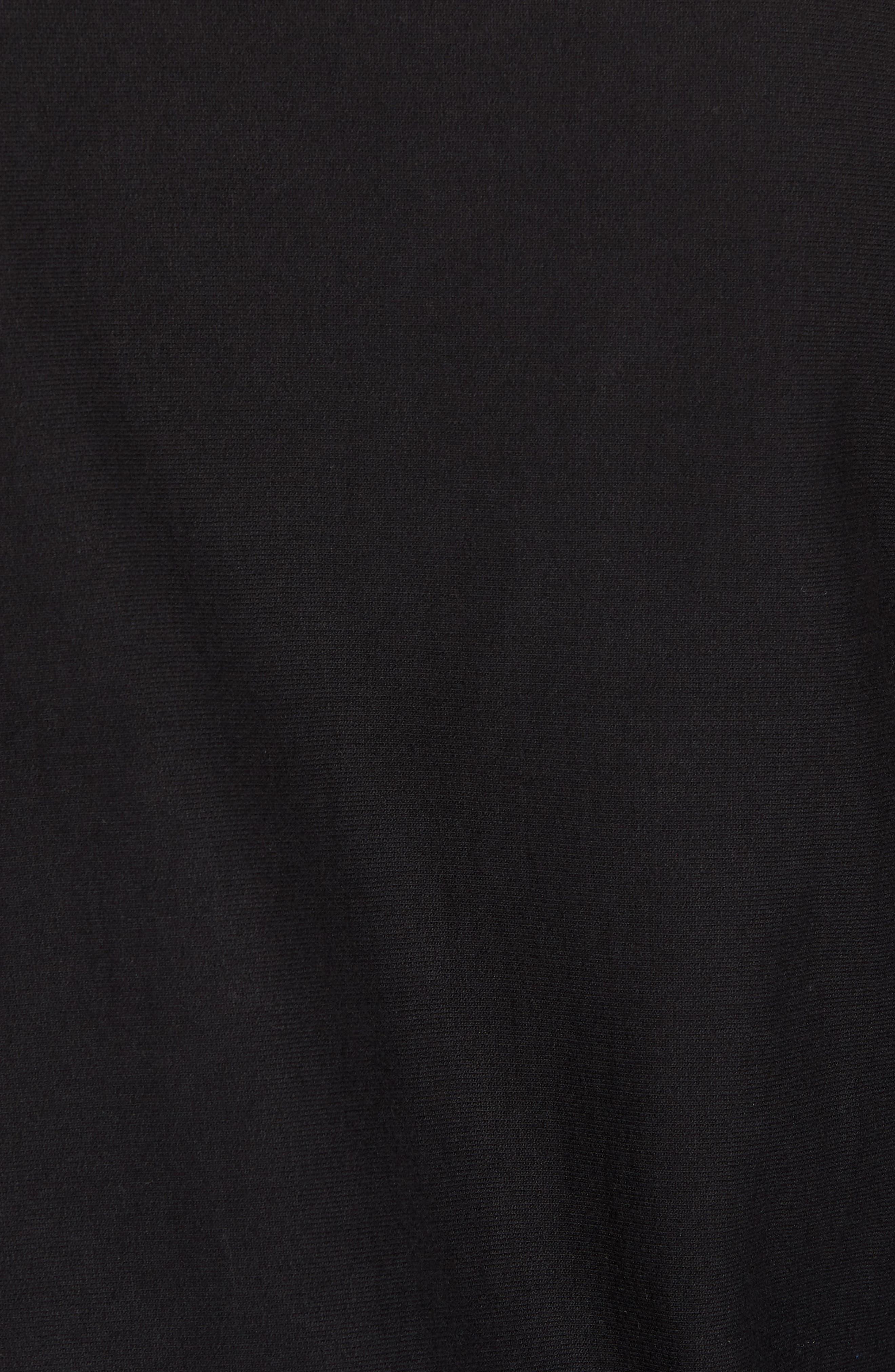 + Champion Graphic Sleeve Sweatshirt,                             Alternate thumbnail 5, color,                             001