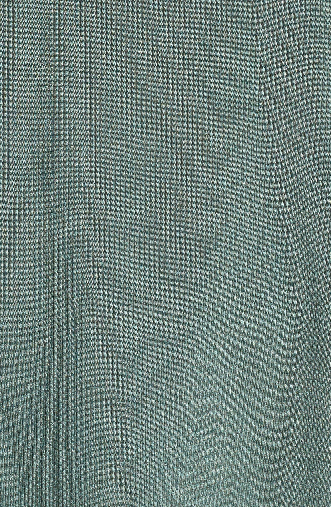 Cold Shoulder Ruffle Top,                             Alternate thumbnail 5, color,                             360