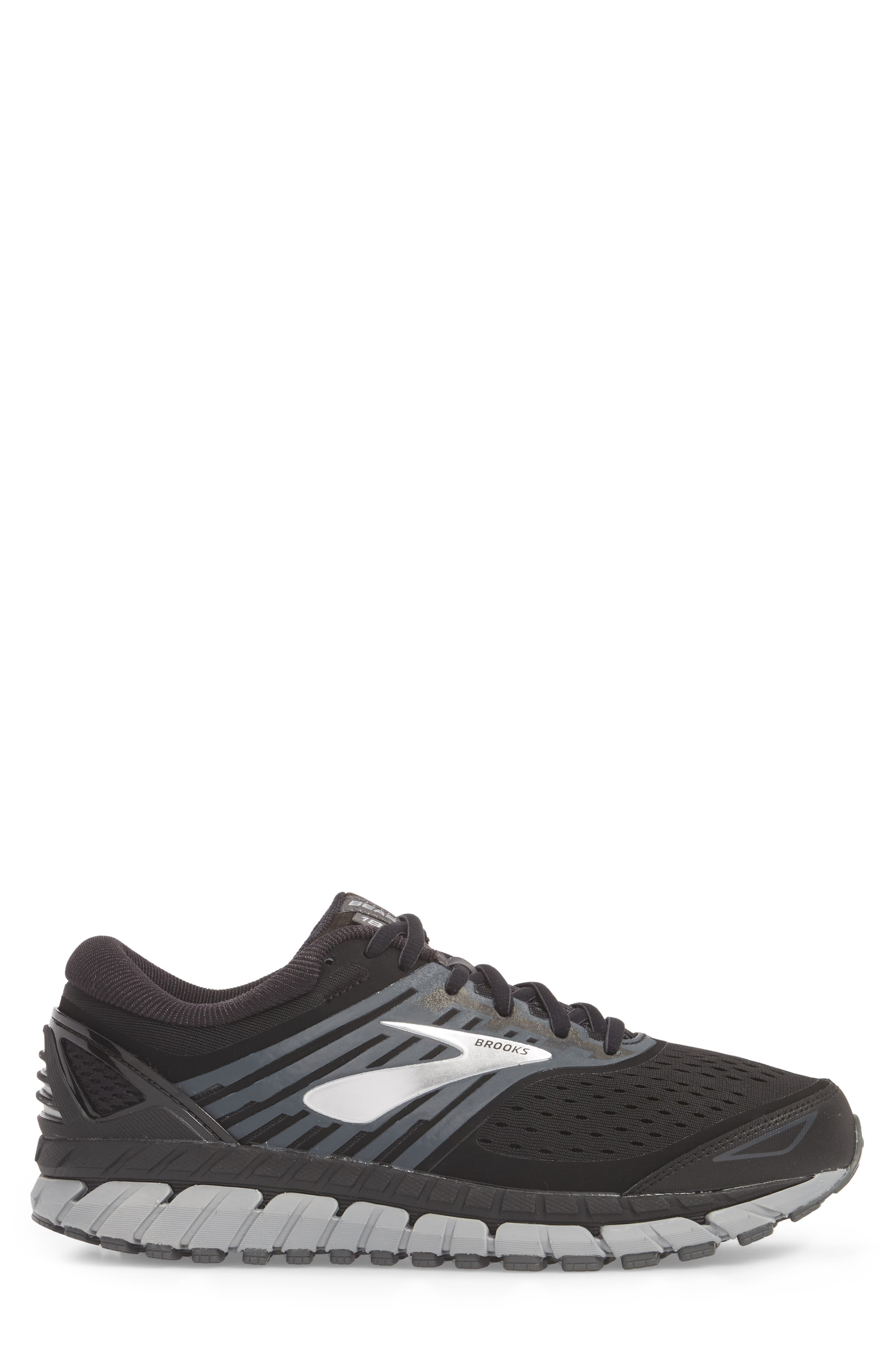 Beast '18 Running Shoe,                             Alternate thumbnail 3, color,                             BLACK/ GREY/ SILVER