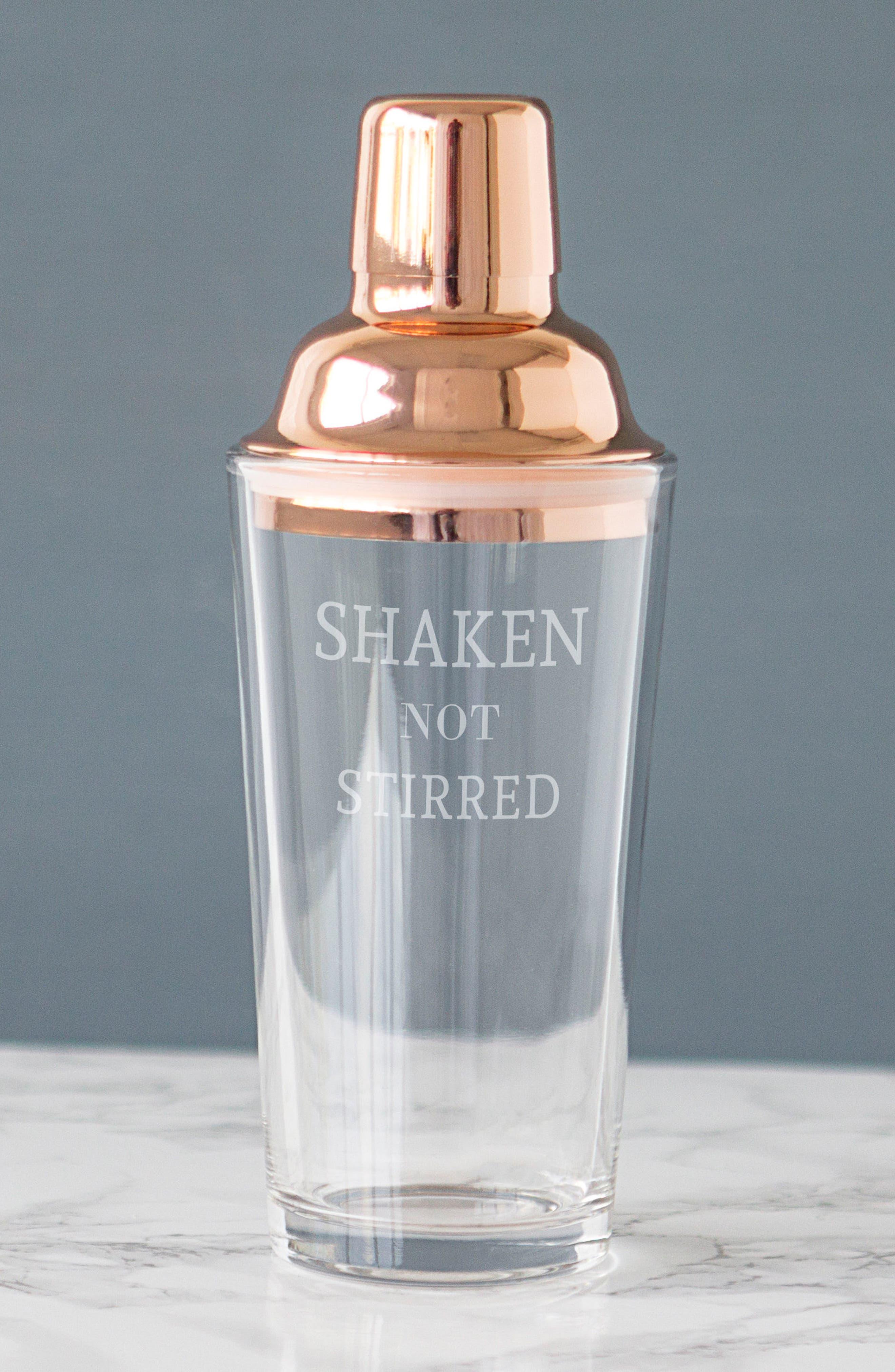 Shaken Not Stirred Cocktail Shaker,                             Alternate thumbnail 11, color,