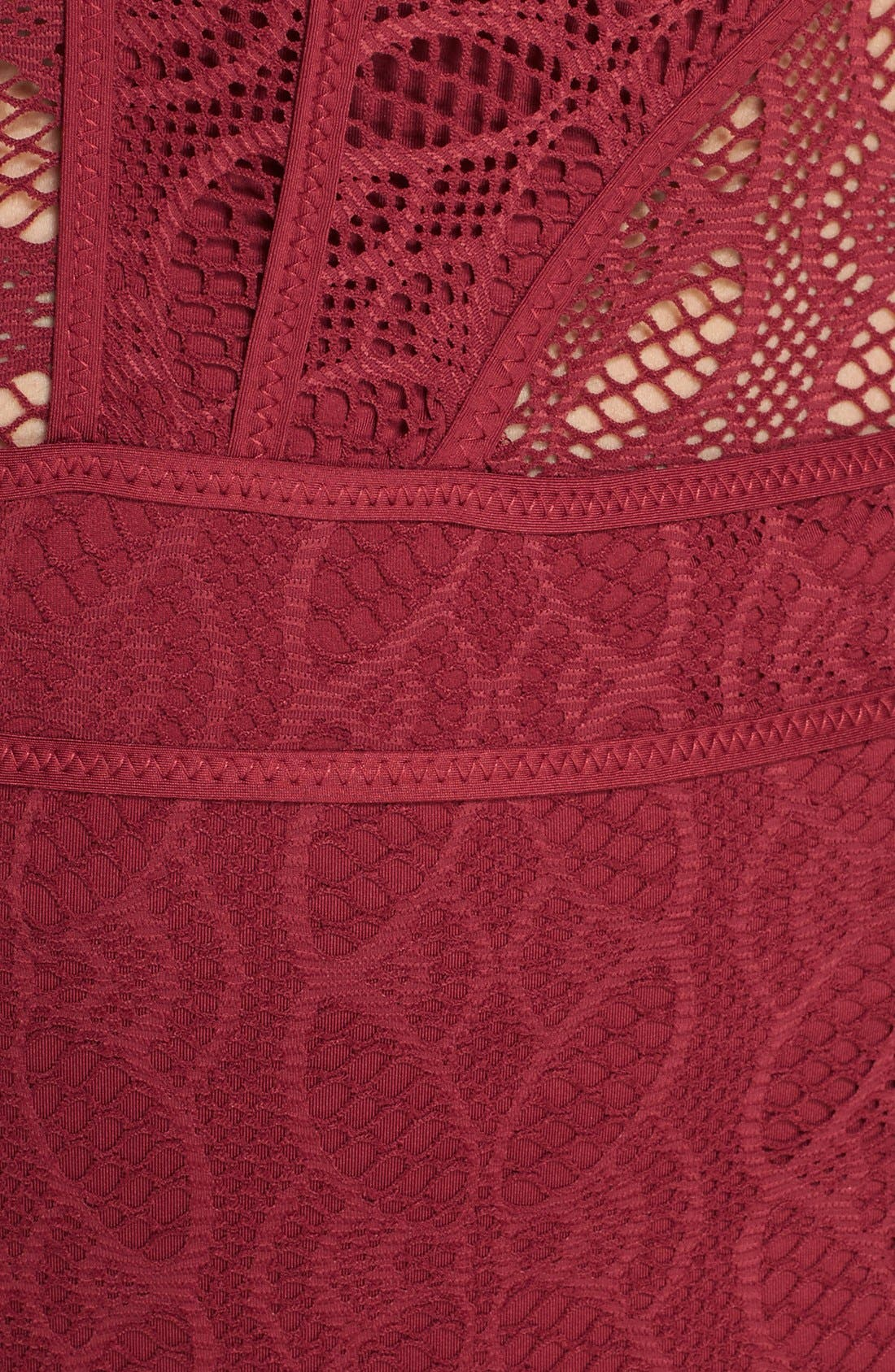 'Show & Tell' Crochet One-Piece Swimsuit,                             Alternate thumbnail 10, color,