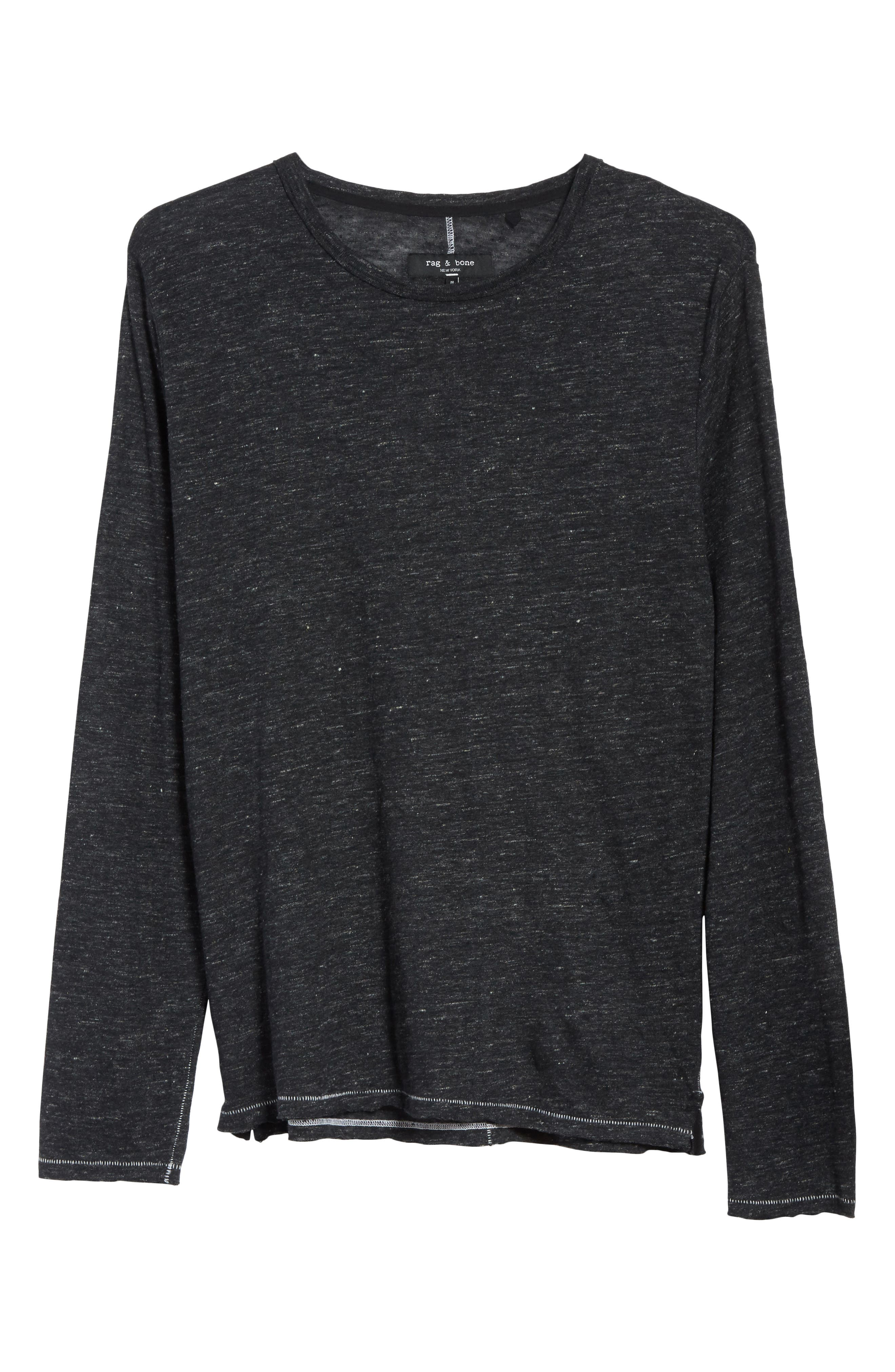 Owen Linen Long Sleeve T-Shirt,                             Alternate thumbnail 17, color,