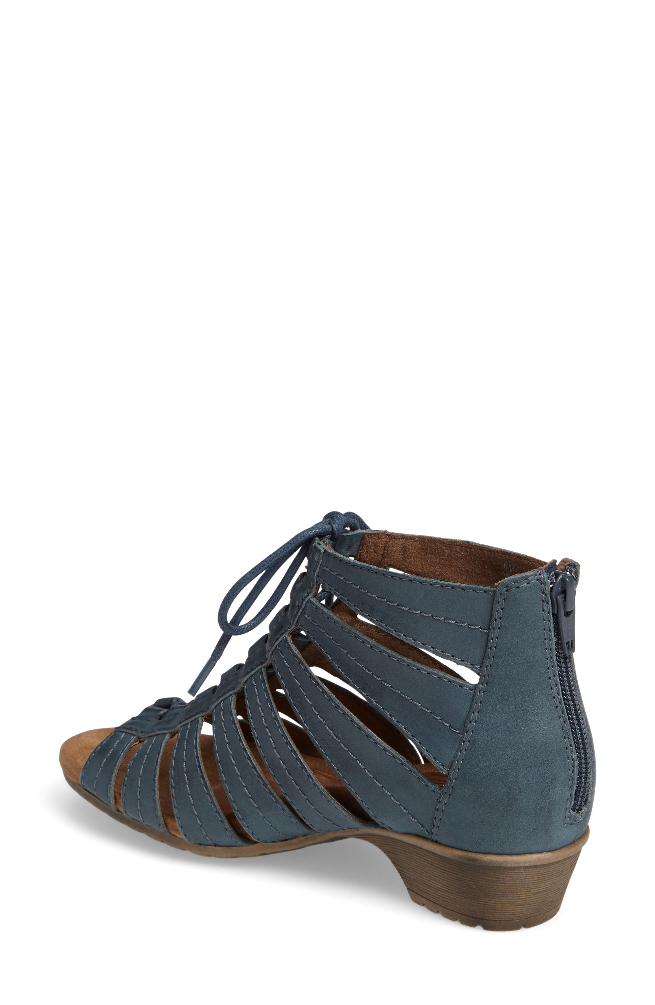 'Gabby' Lace-Up Sandal,                             Alternate thumbnail 15, color,