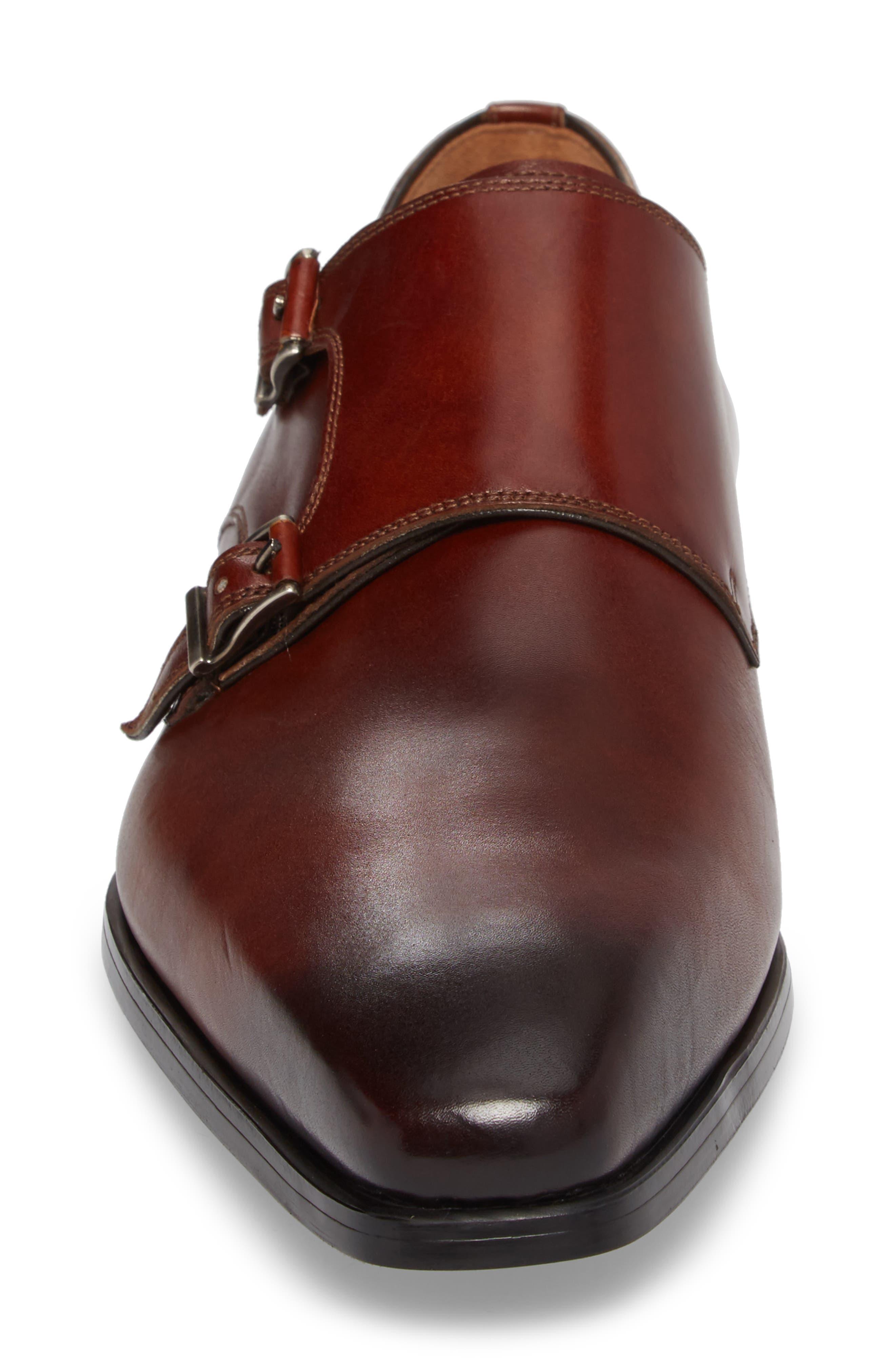 Ramolo Double Monk Strap Shoe,                             Alternate thumbnail 8, color,