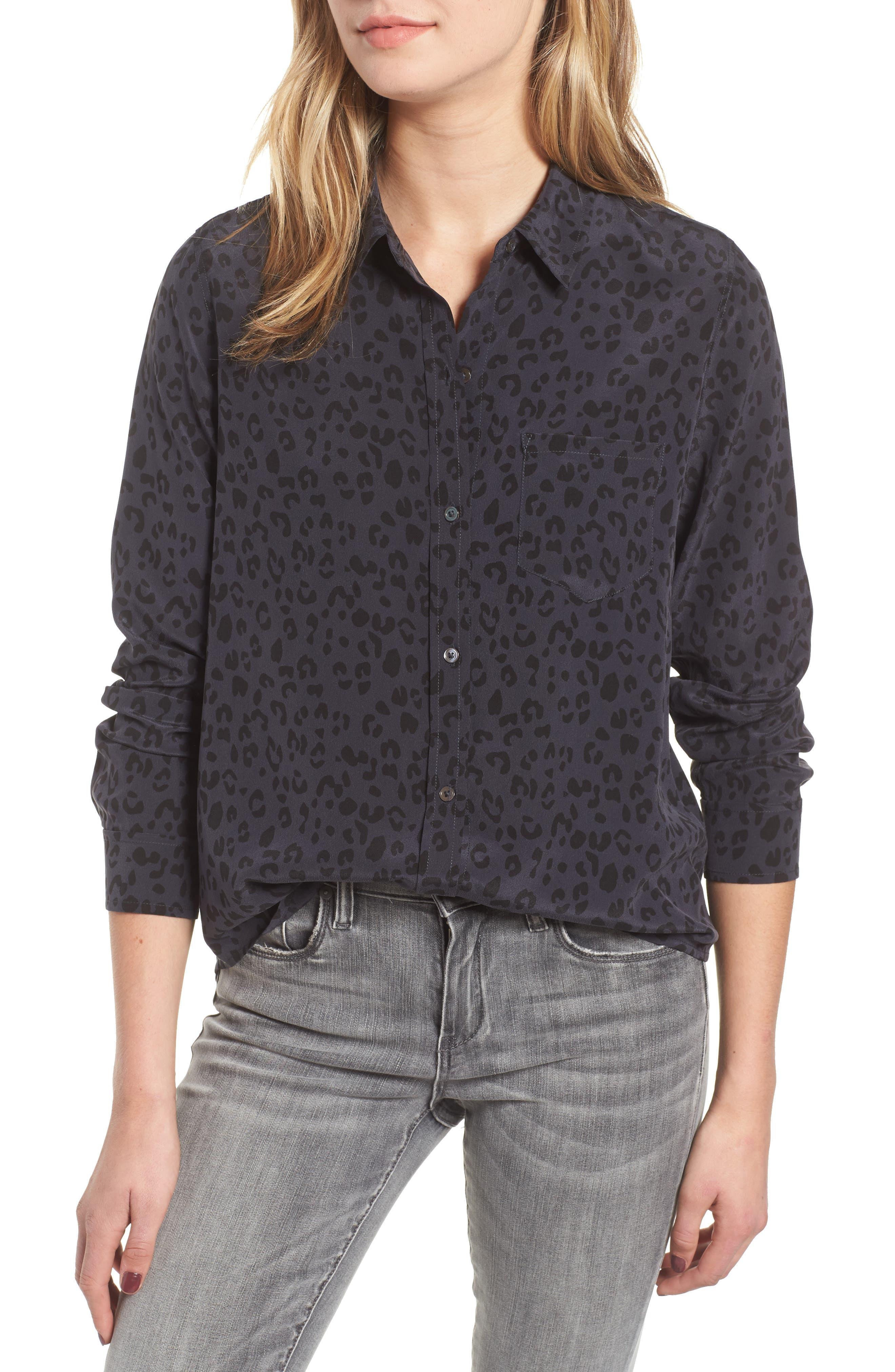 Kate Print Shirt,                             Main thumbnail 13, color,