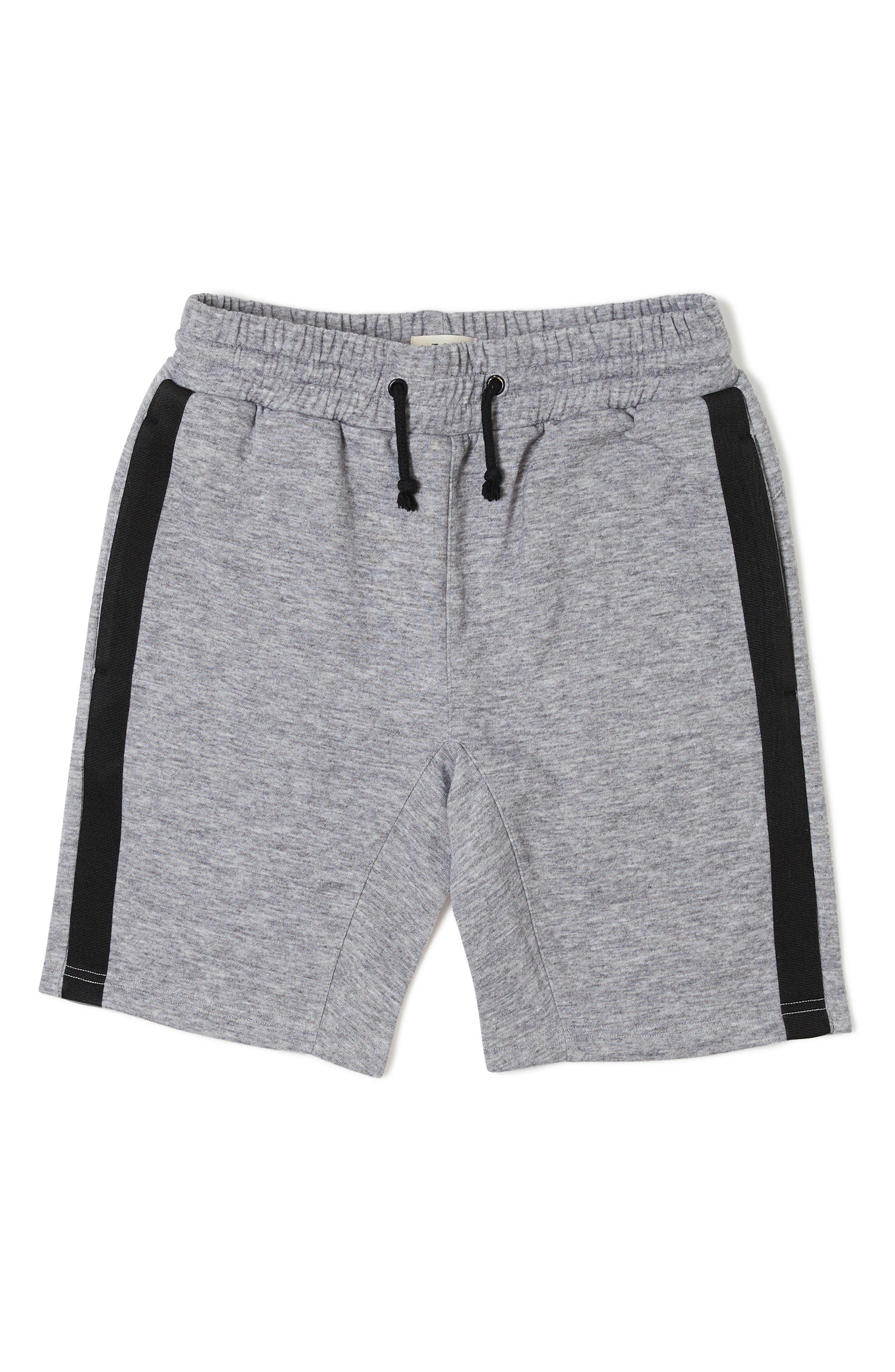 Rhett Knit Shorts,                             Main thumbnail 1, color,                             HEATHER GREY