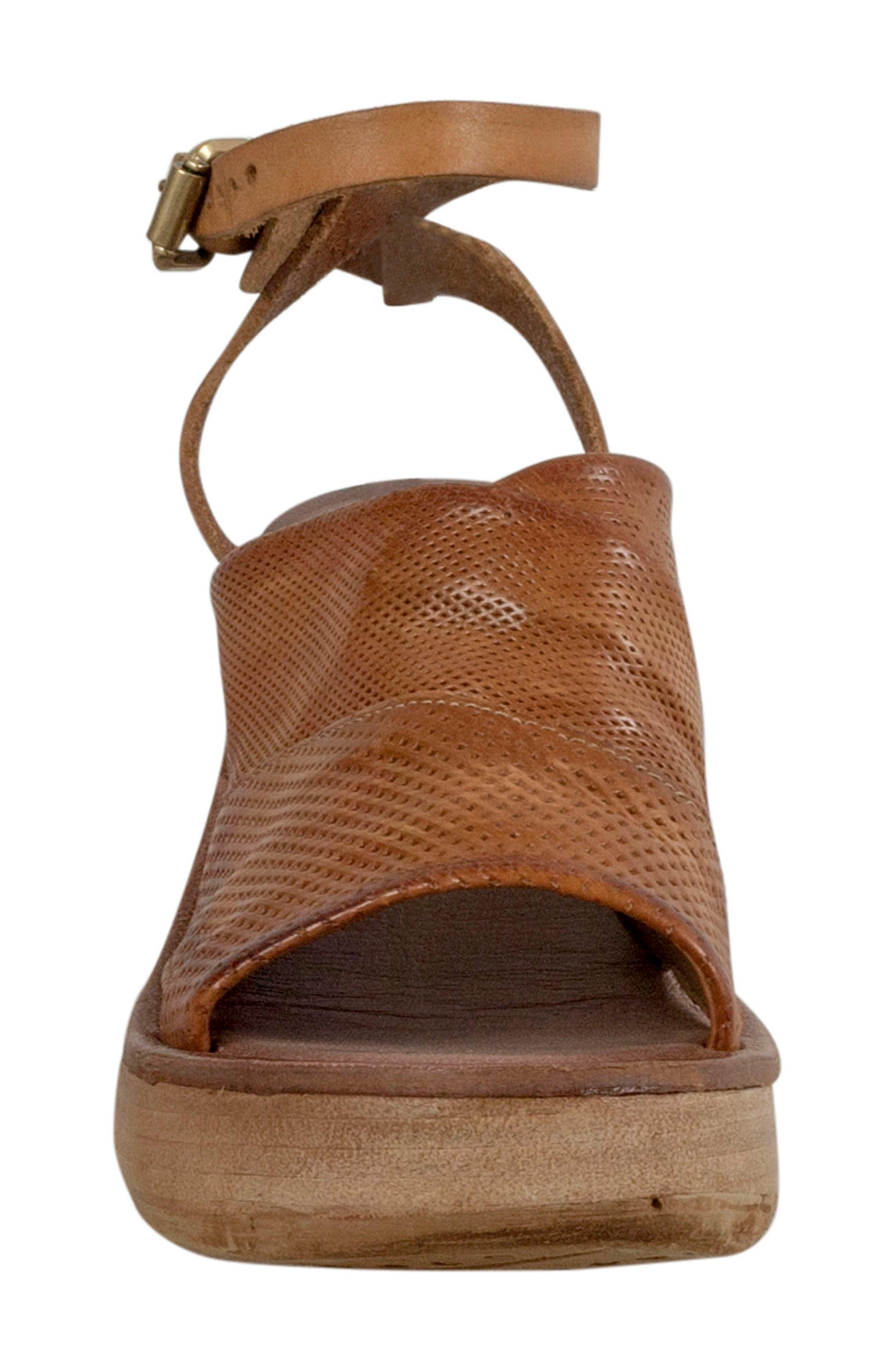 Niall Platform Wedge Sandal,                             Alternate thumbnail 8, color,
