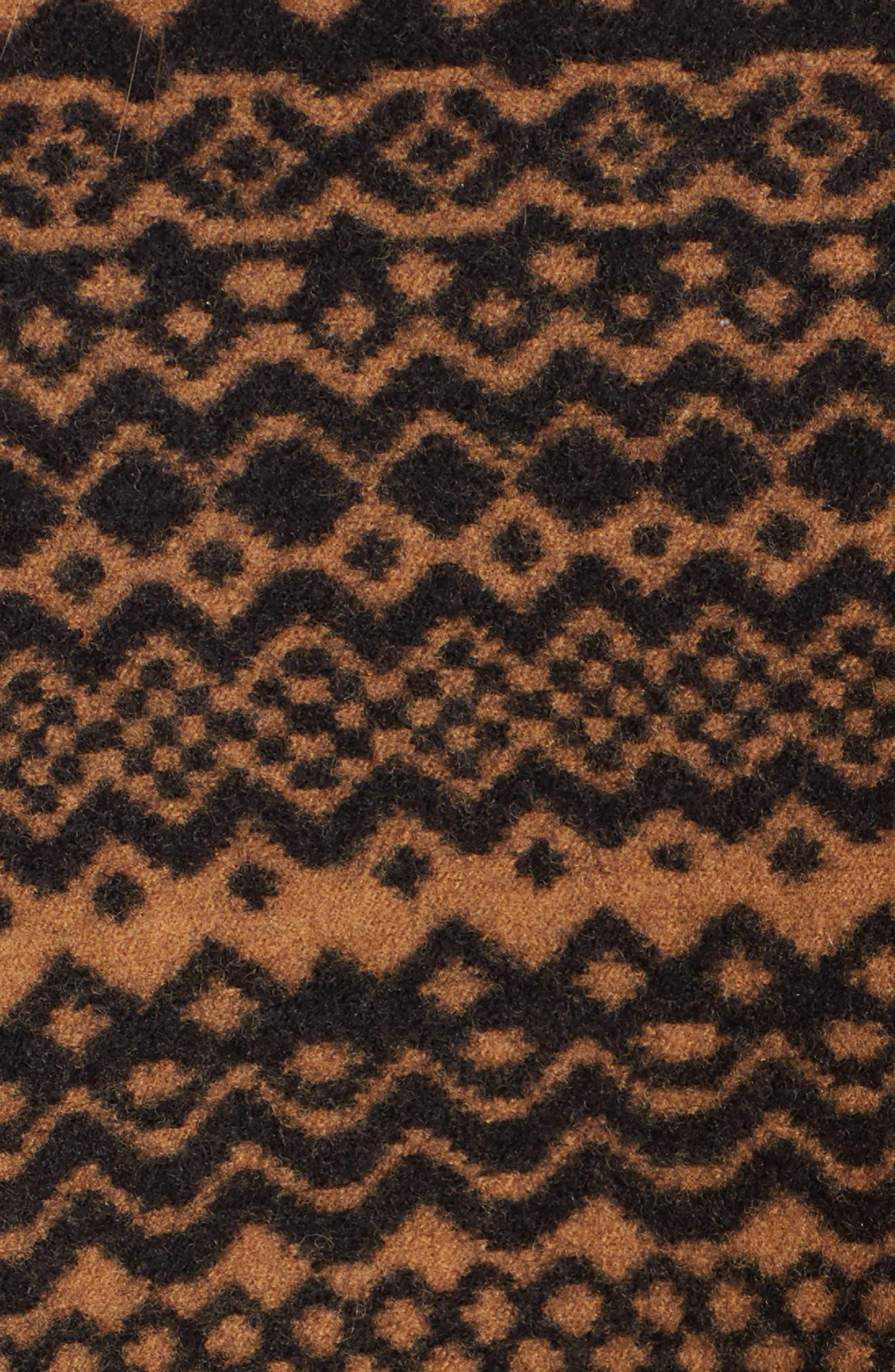 Fair Isle Wool Blend Knit Vest,                             Alternate thumbnail 5, color,