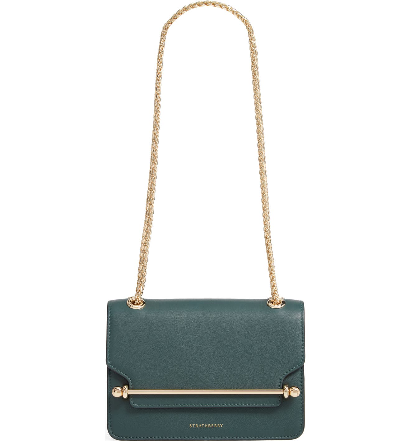 0ebb2518a665 Strathberry Mini East West Leather Crossbody Bag