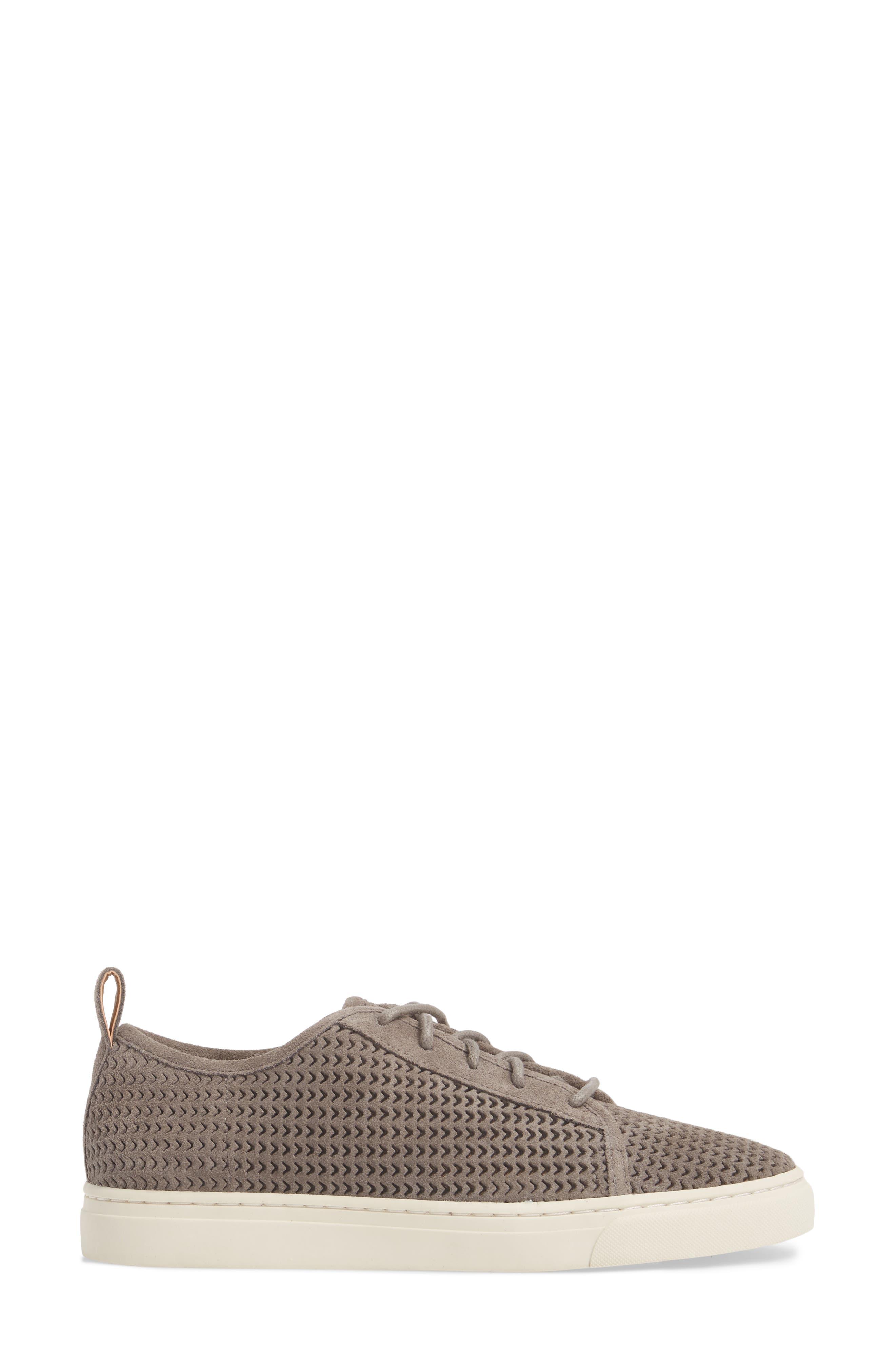 Lawove Sneaker,                             Alternate thumbnail 3, color,                             TITANIUM SUEDE