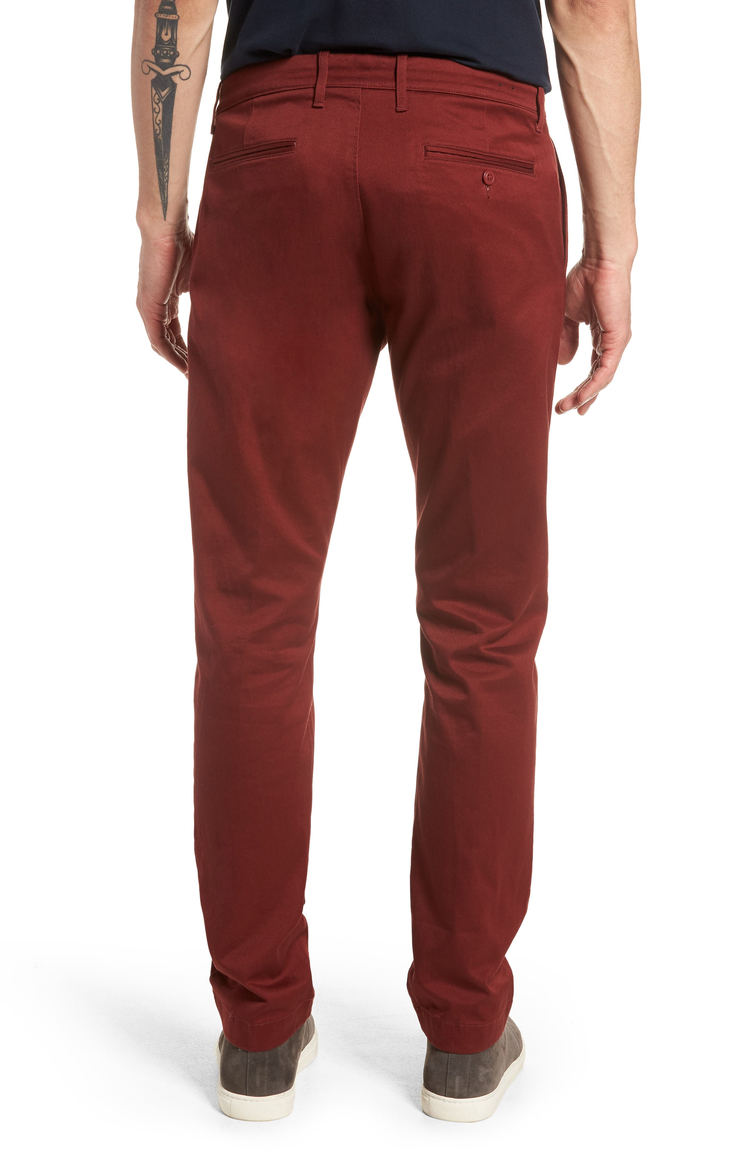 484 Slim Fit Stretch Chino Pants,                             Alternate thumbnail 18, color,