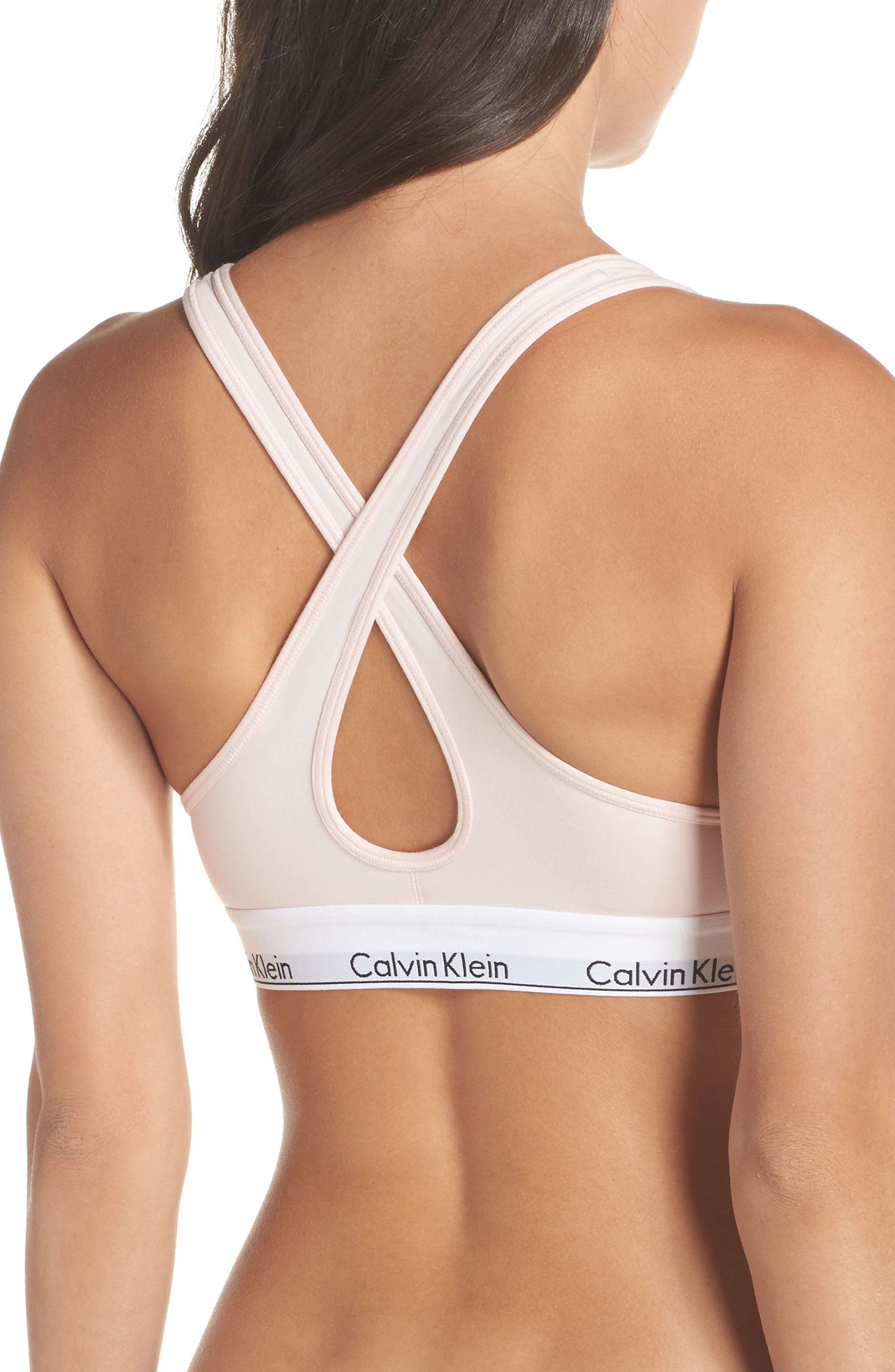 Modern Cotton Bra,                             Alternate thumbnail 8, color,