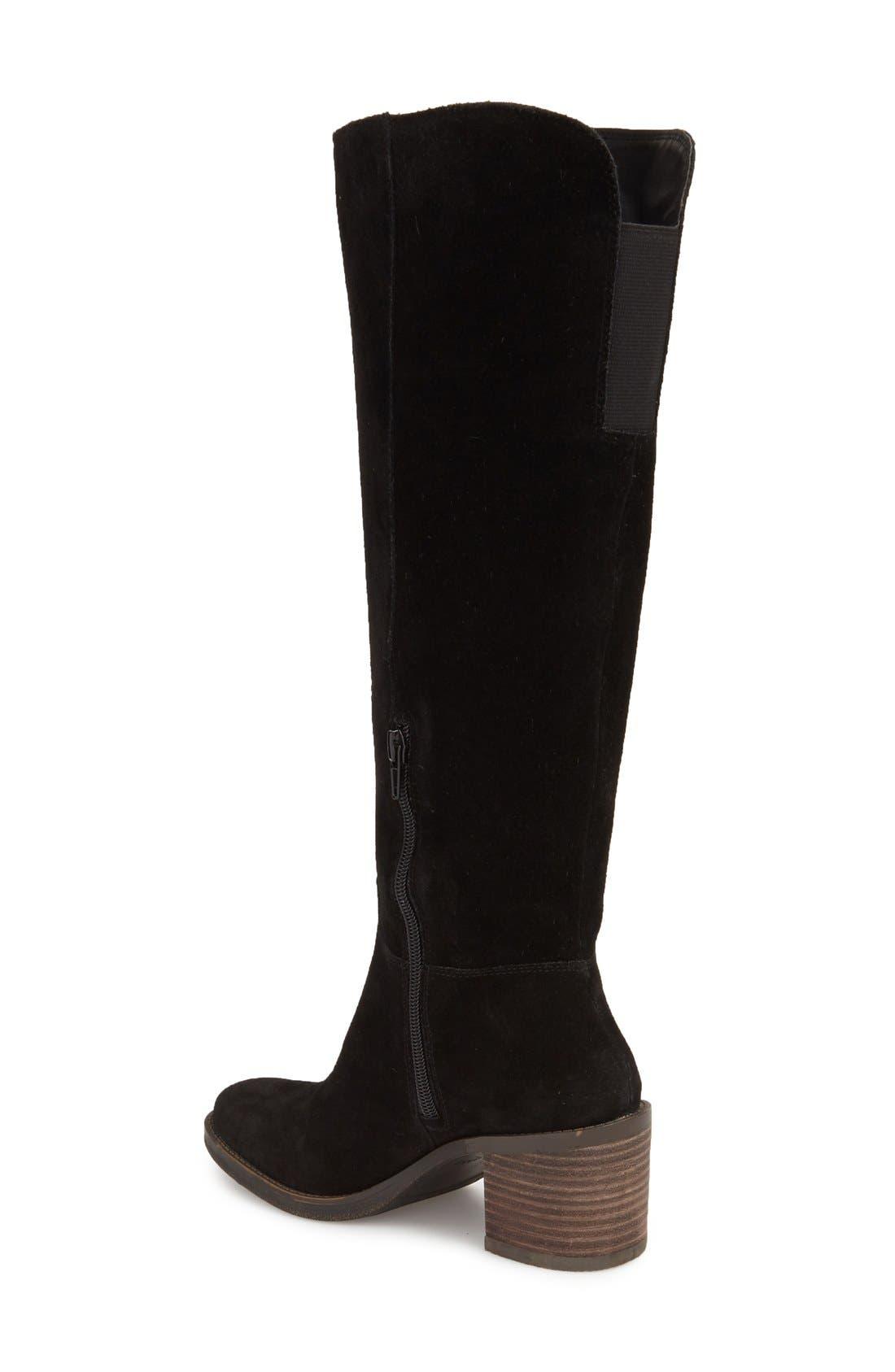 LUCKY BRAND,                             Ritten Tall Boot,                             Alternate thumbnail 2, color,                             002