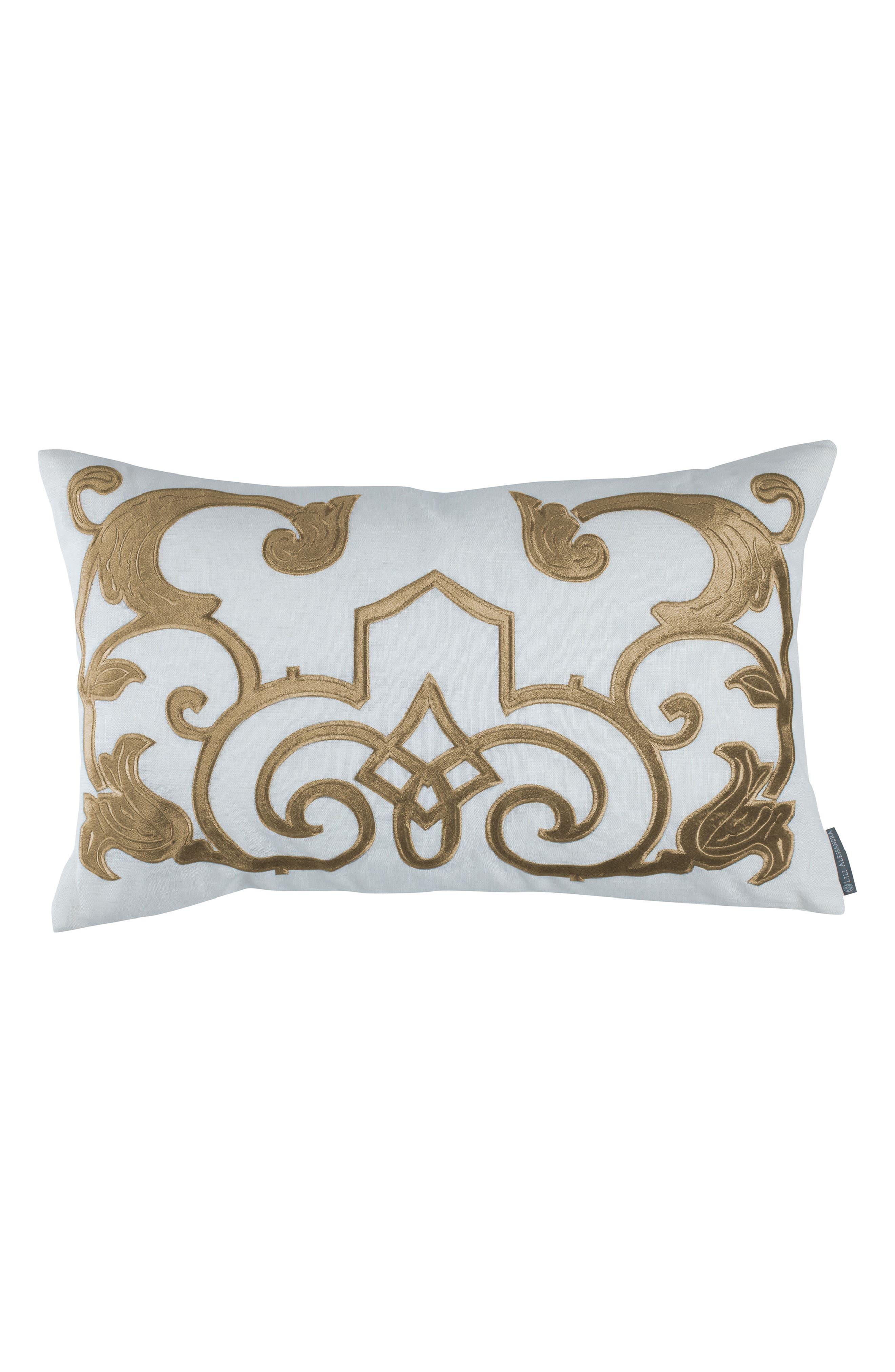 Mozart Rectangular Accent Pillow,                             Main thumbnail 1, color,                             100