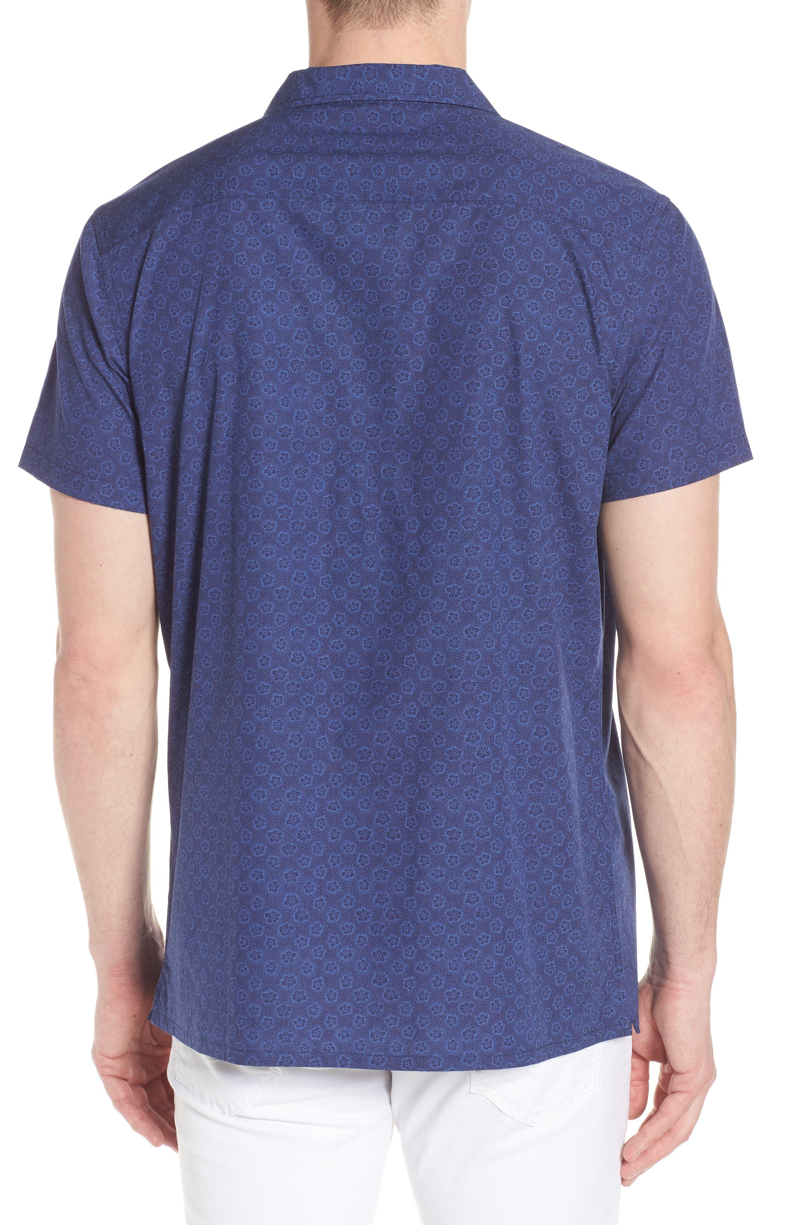 COASTAORO,                             Camp Corones Regular Fit Short Sleeve Sport Shirt,                             Alternate thumbnail 2, color,                             410