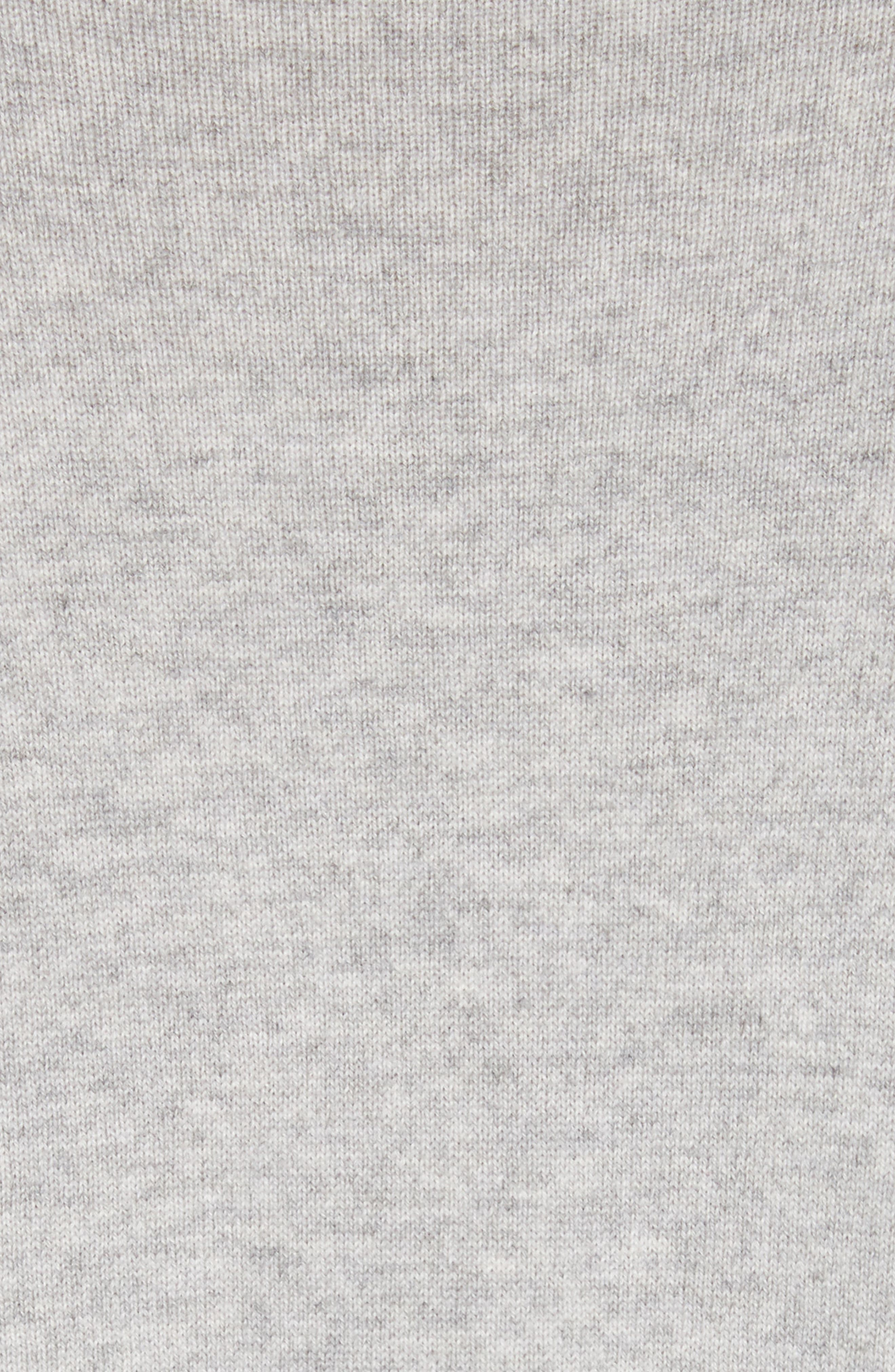 Cashmere Draped Pullover,                             Alternate thumbnail 6, color,                             PEARL GREY MELANGE