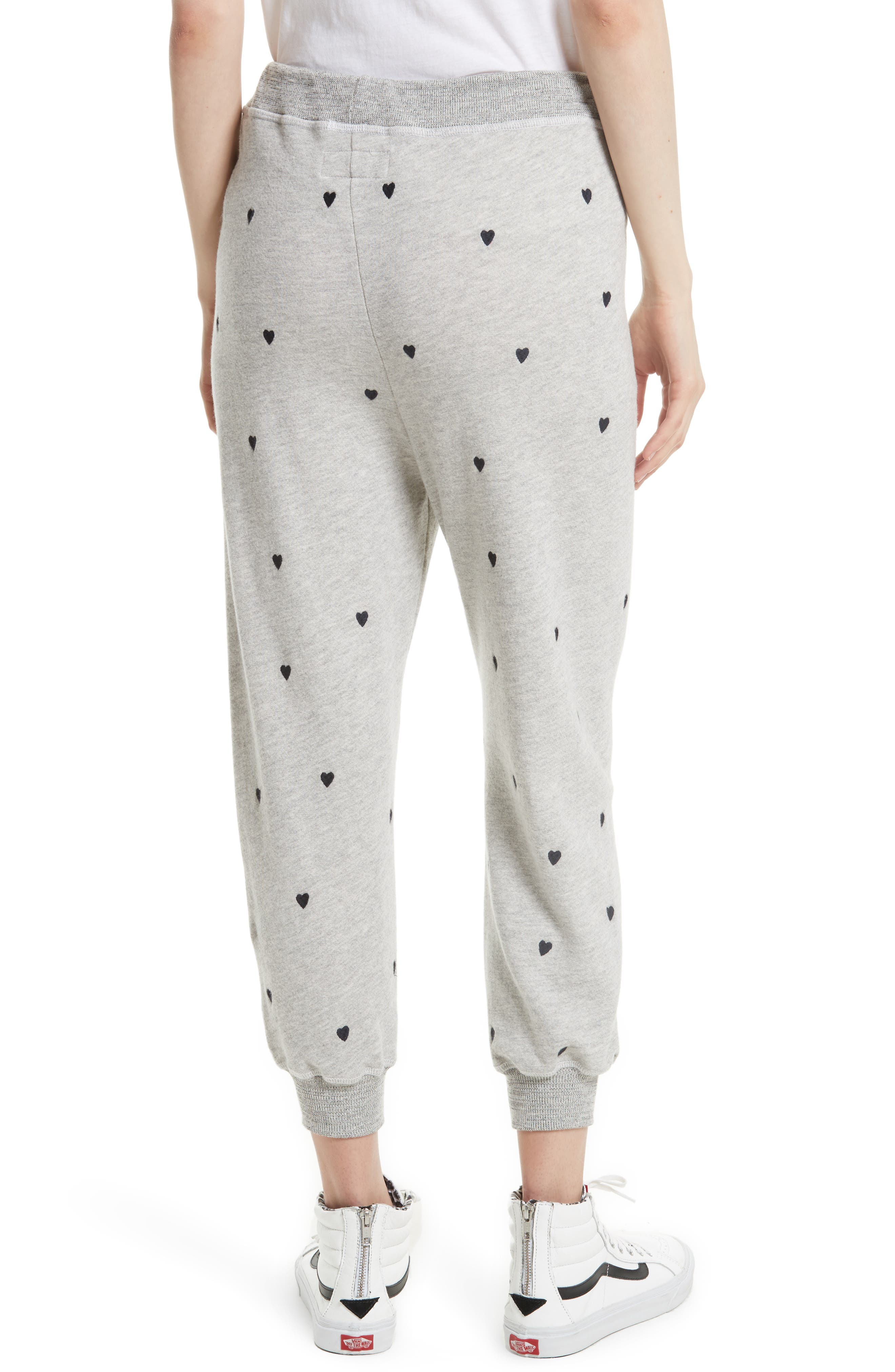 The Cropped Sweatpants,                             Alternate thumbnail 4, color,