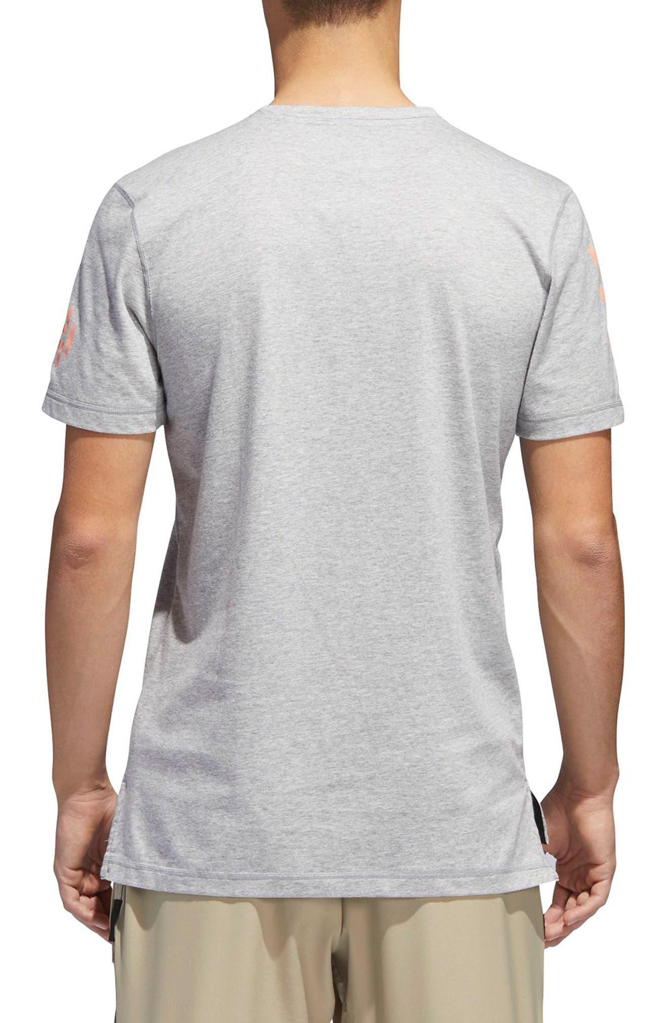 Harden Brand Slogan T-Shirt,                             Alternate thumbnail 4, color,