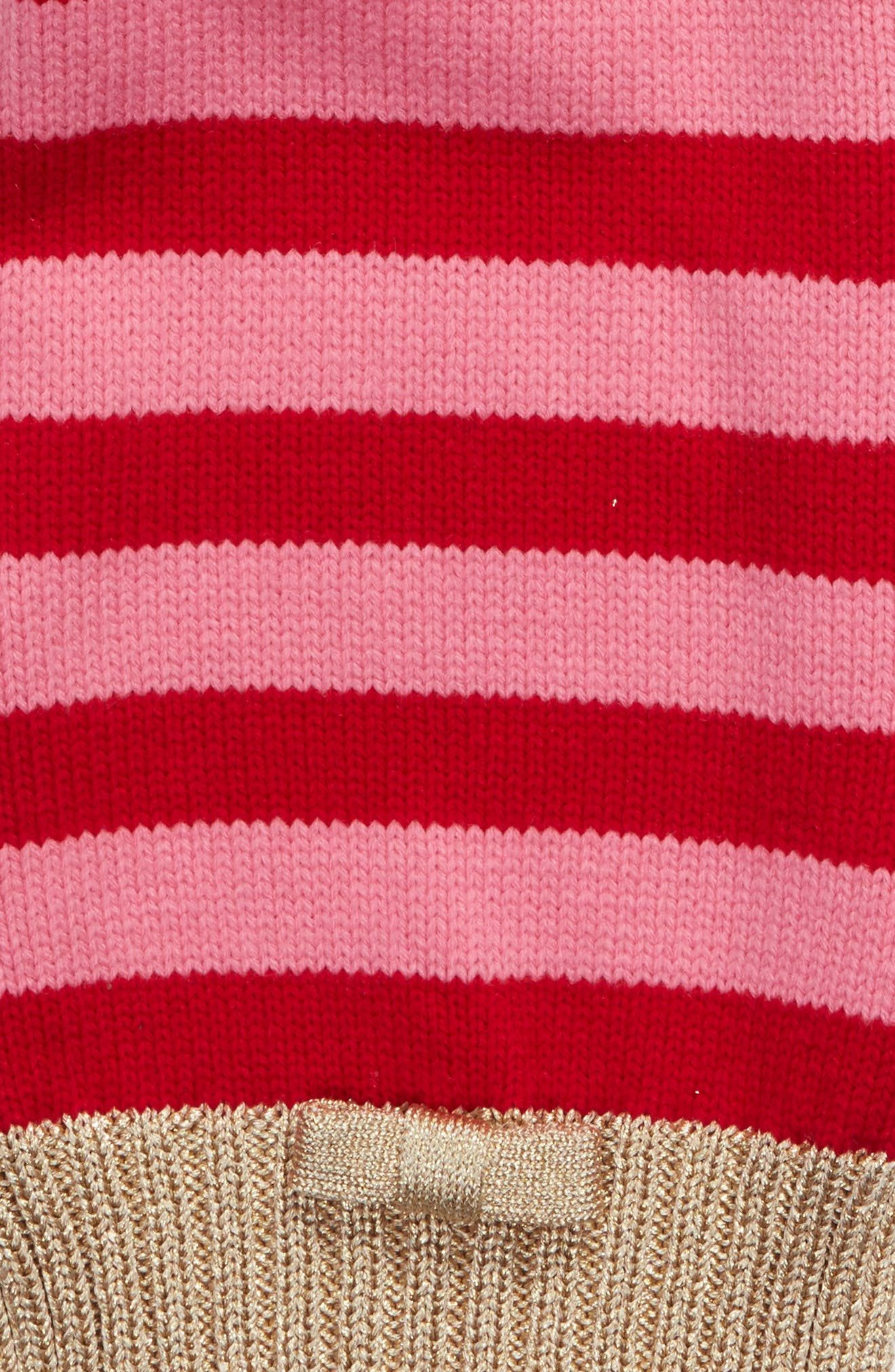 bold stripe muffler,                             Alternate thumbnail 4, color,                             644